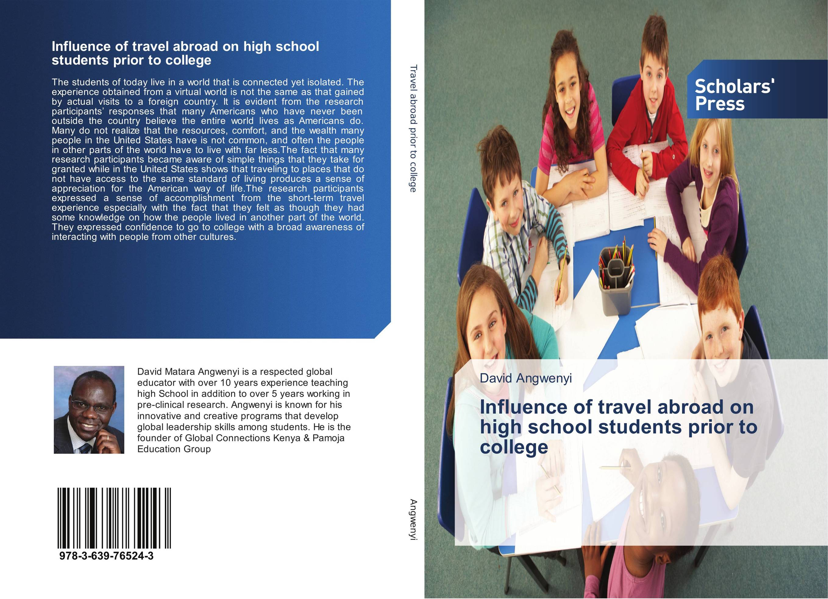 Influence of travel abroad on high school students prior to college