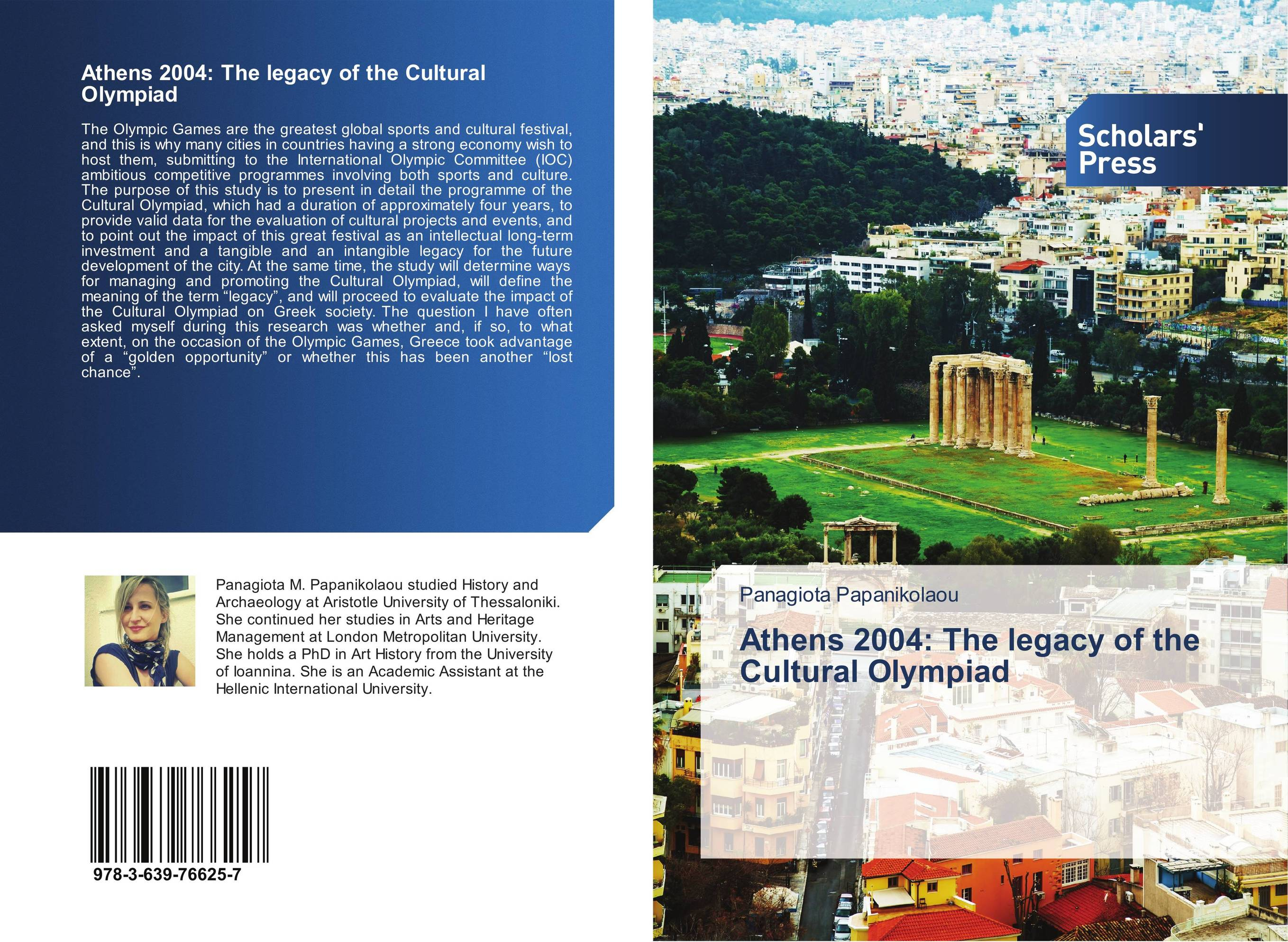 Athens 2004: The legacy of the Cultural Olympiad managing the store