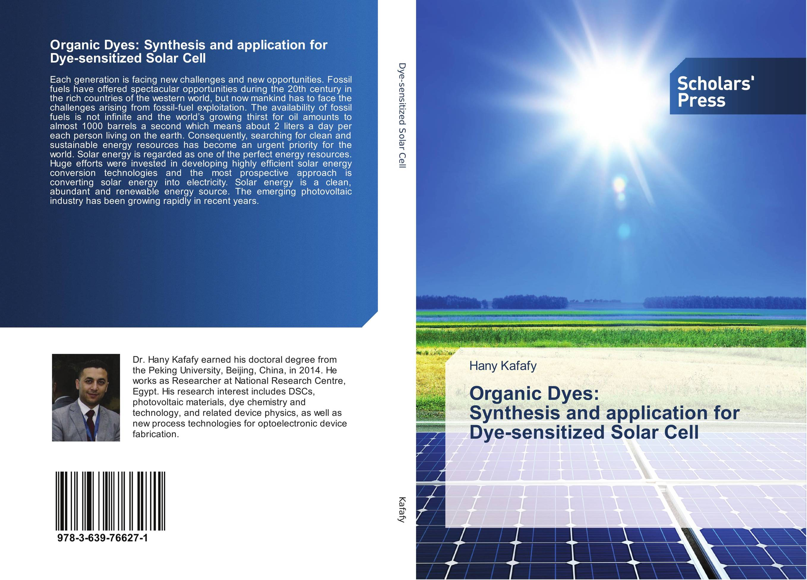 Organic Dyes: Synthesis and application for Dye-sensitized Solar Cell natural dyes for textiles