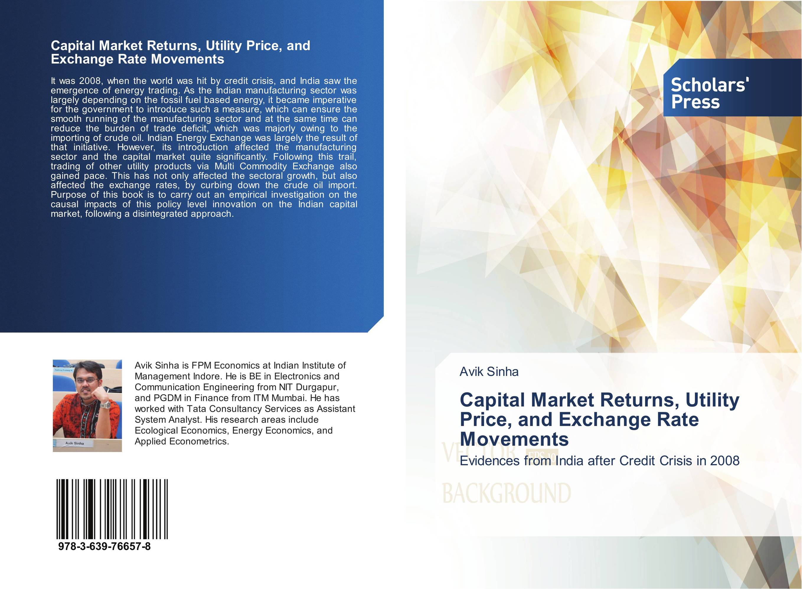 Capital Market Returns, Utility Price, and Exchange Rate Movements evolution of crude oil price term structure