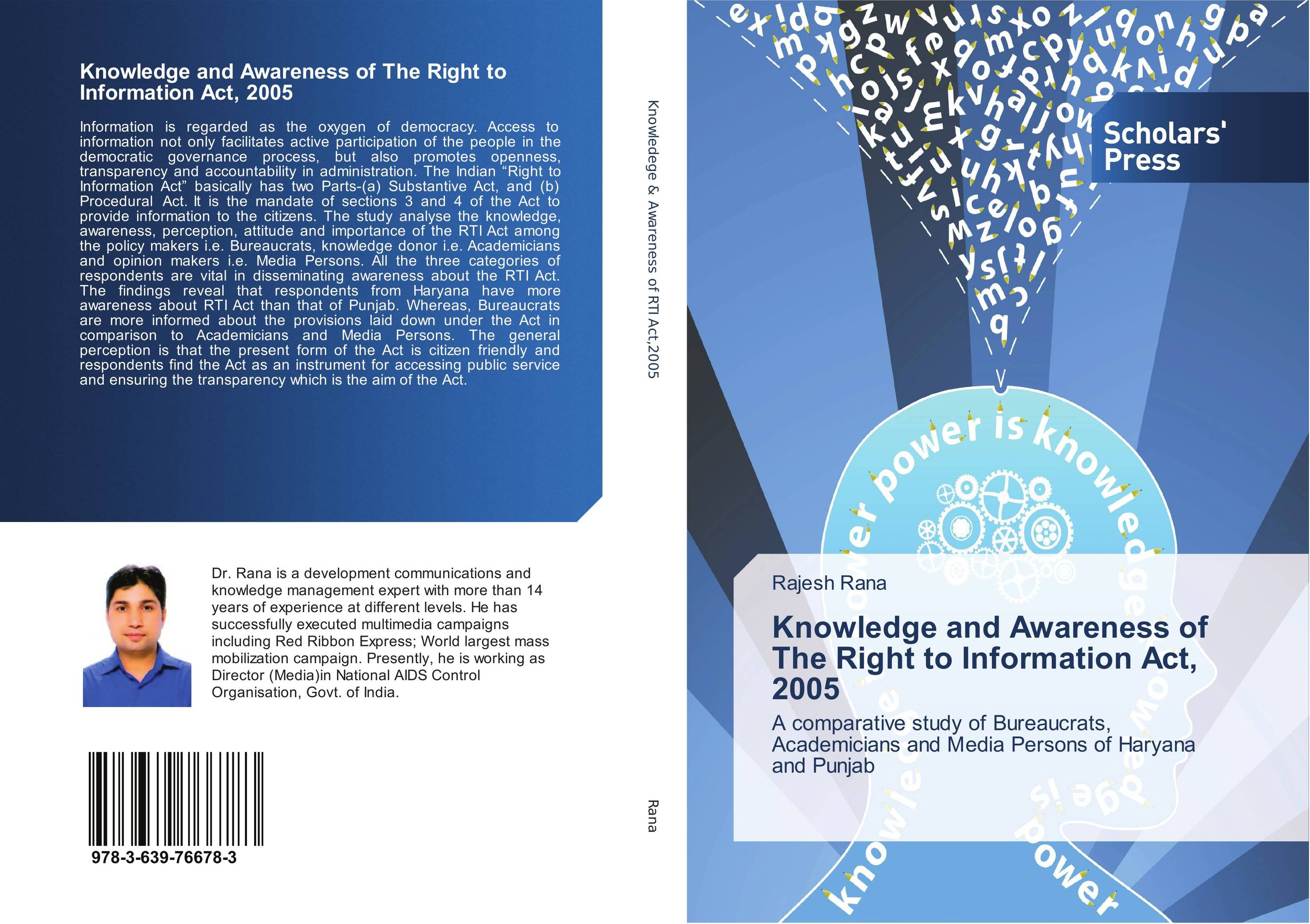 Knowledge and Awareness of The Right to Information Act, 2005 bureaucrats