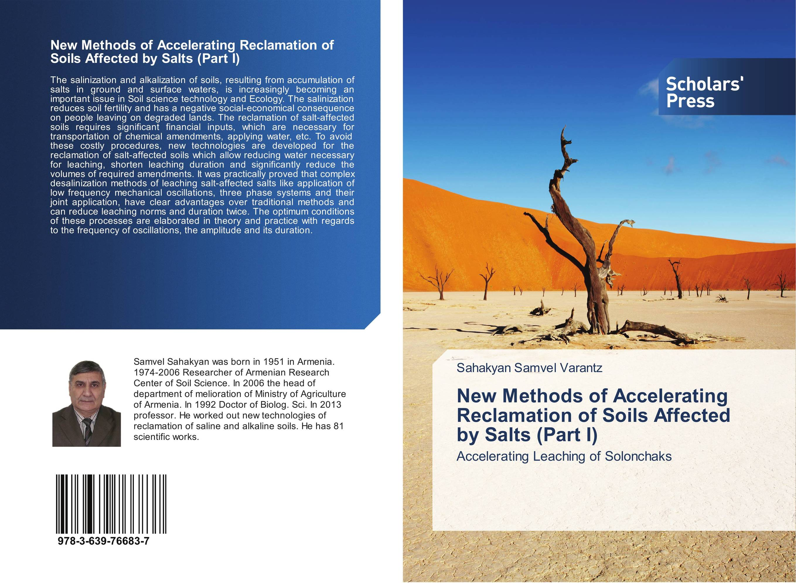 New Methods of Accelerating Reclamation of Soils Affected by Salts (Part I) status of soils and water reservoirs near industrial areas of baroda