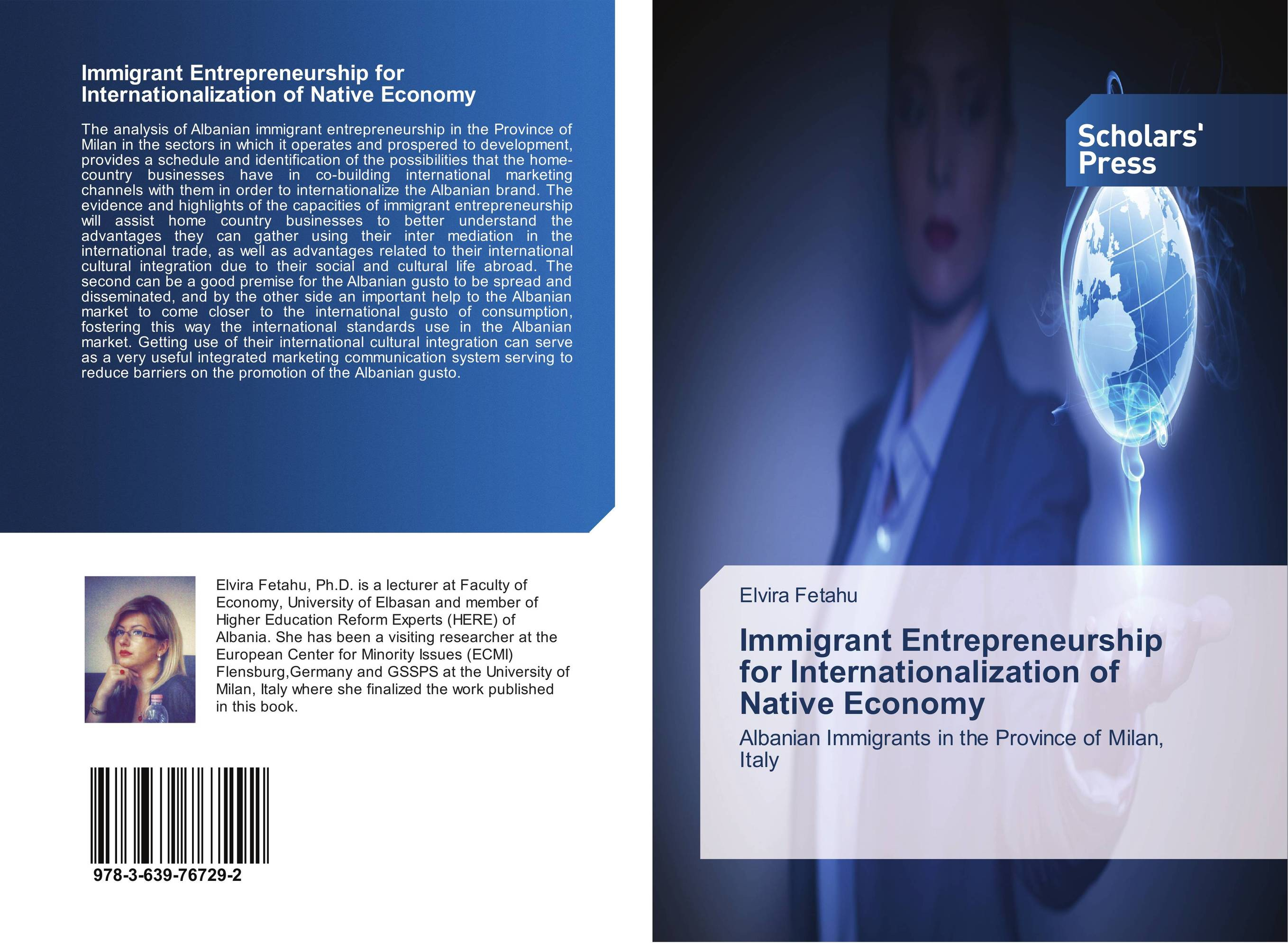 Immigrant Entrepreneurship for Internationalization of Native Economy ca of english future tenses and albanian correspondents