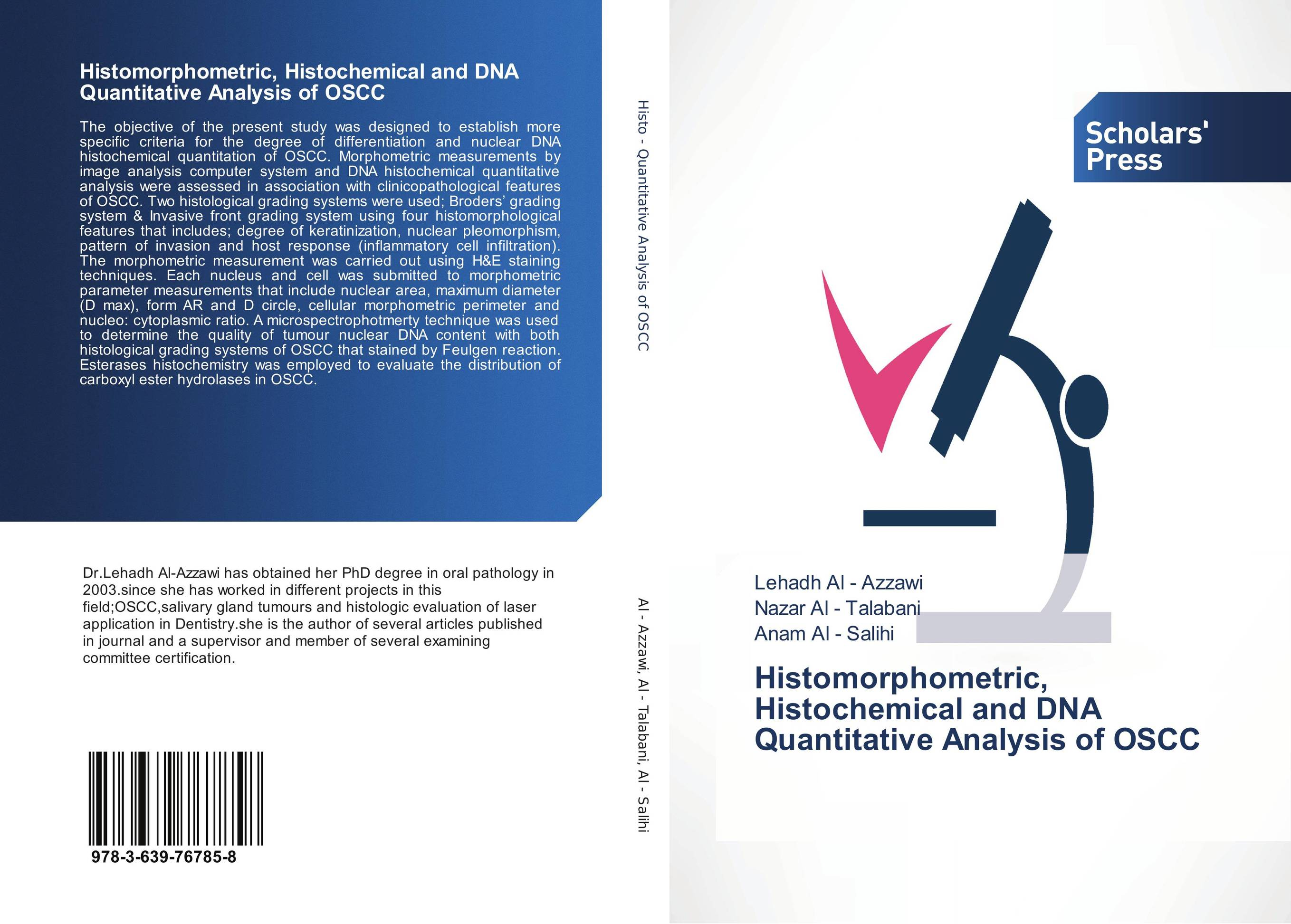 Histomorphometric, Histochemical and DNA Quantitative Analysis of OSCC цена