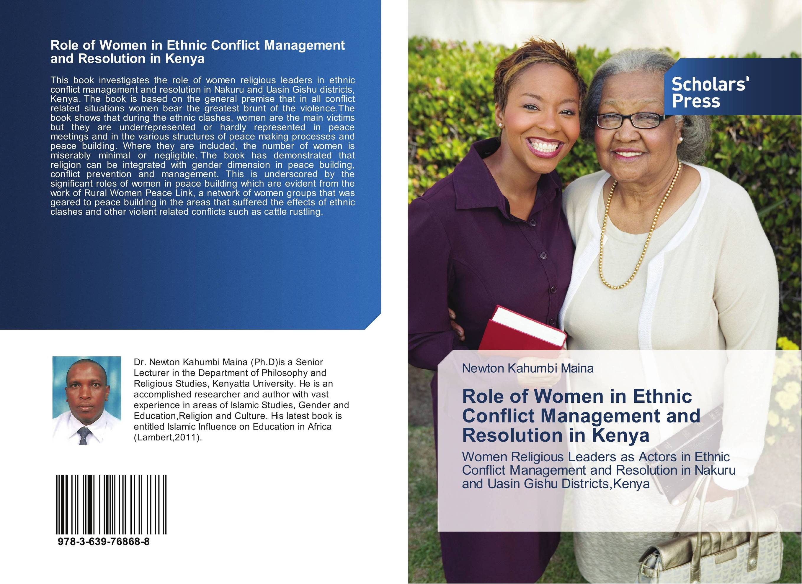 Role of Women in Ethnic Conflict Management and Resolution in Kenya тиски зубр эксперт 32604 100 page 9