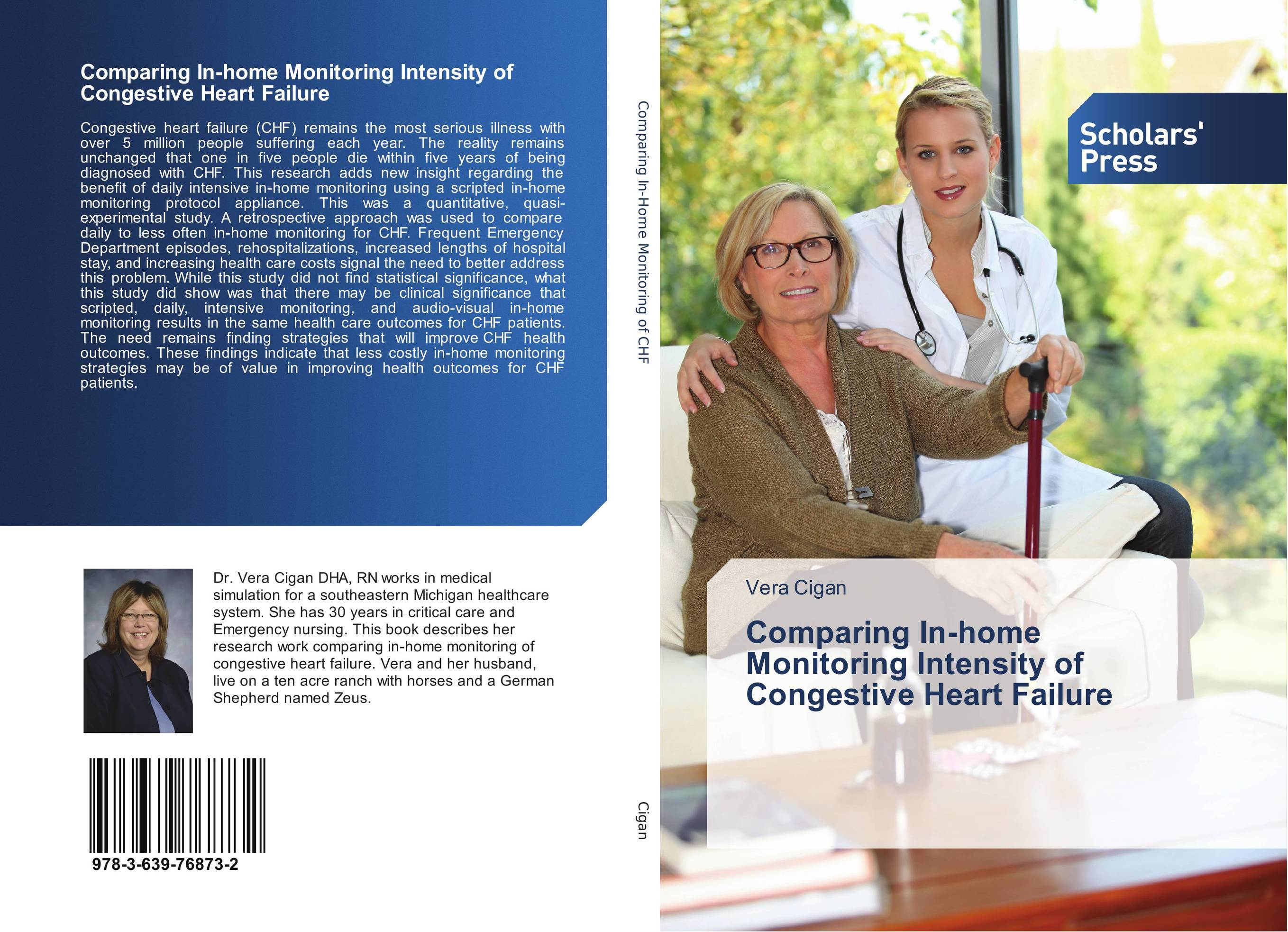 Comparing In-home Monitoring Intensity of Congestive Heart Failure leslie neal boylan clinical case studies in home health care