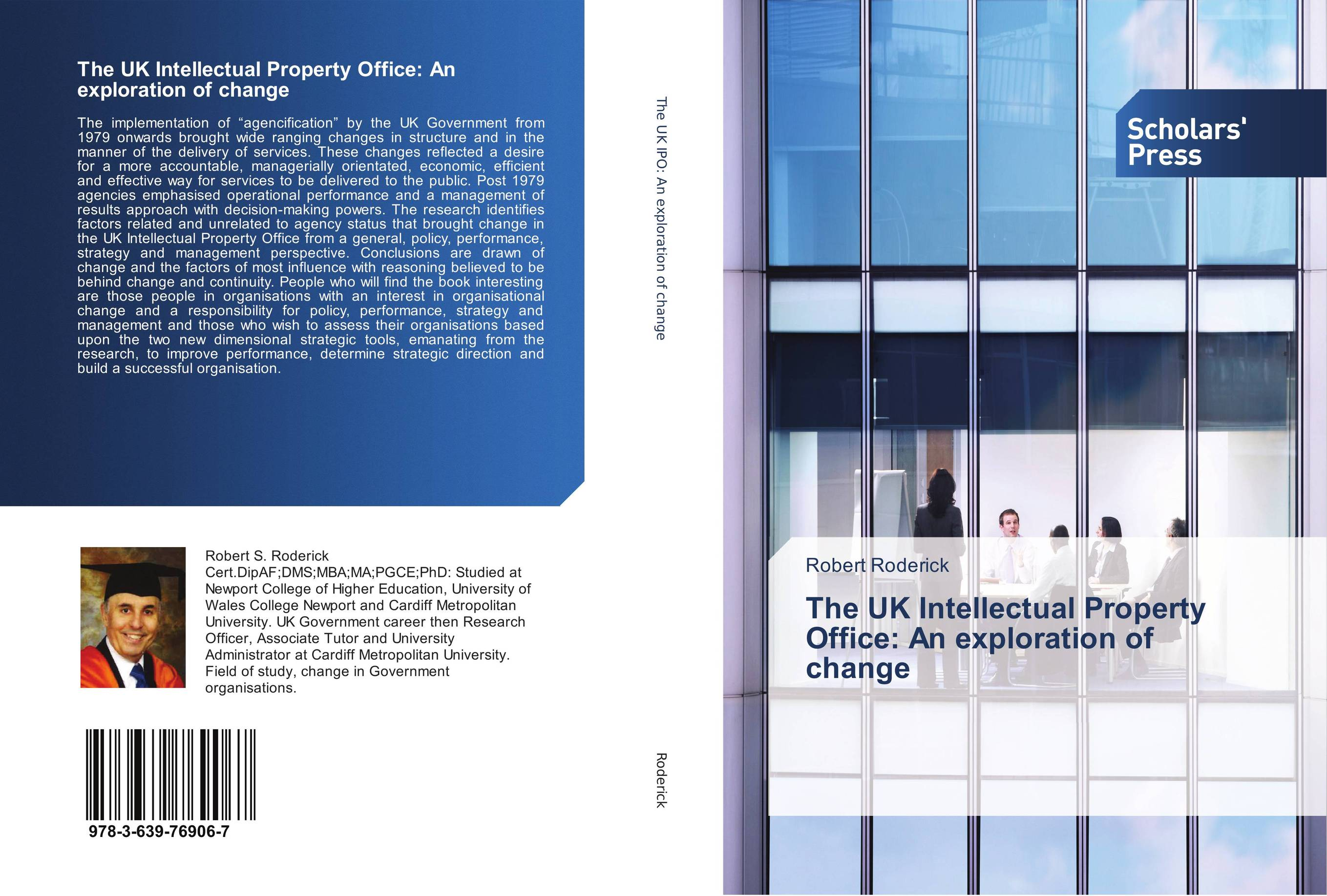 The UK Intellectual Property Office: An exploration of change johan coetsee change lessons from the ceo real people real change