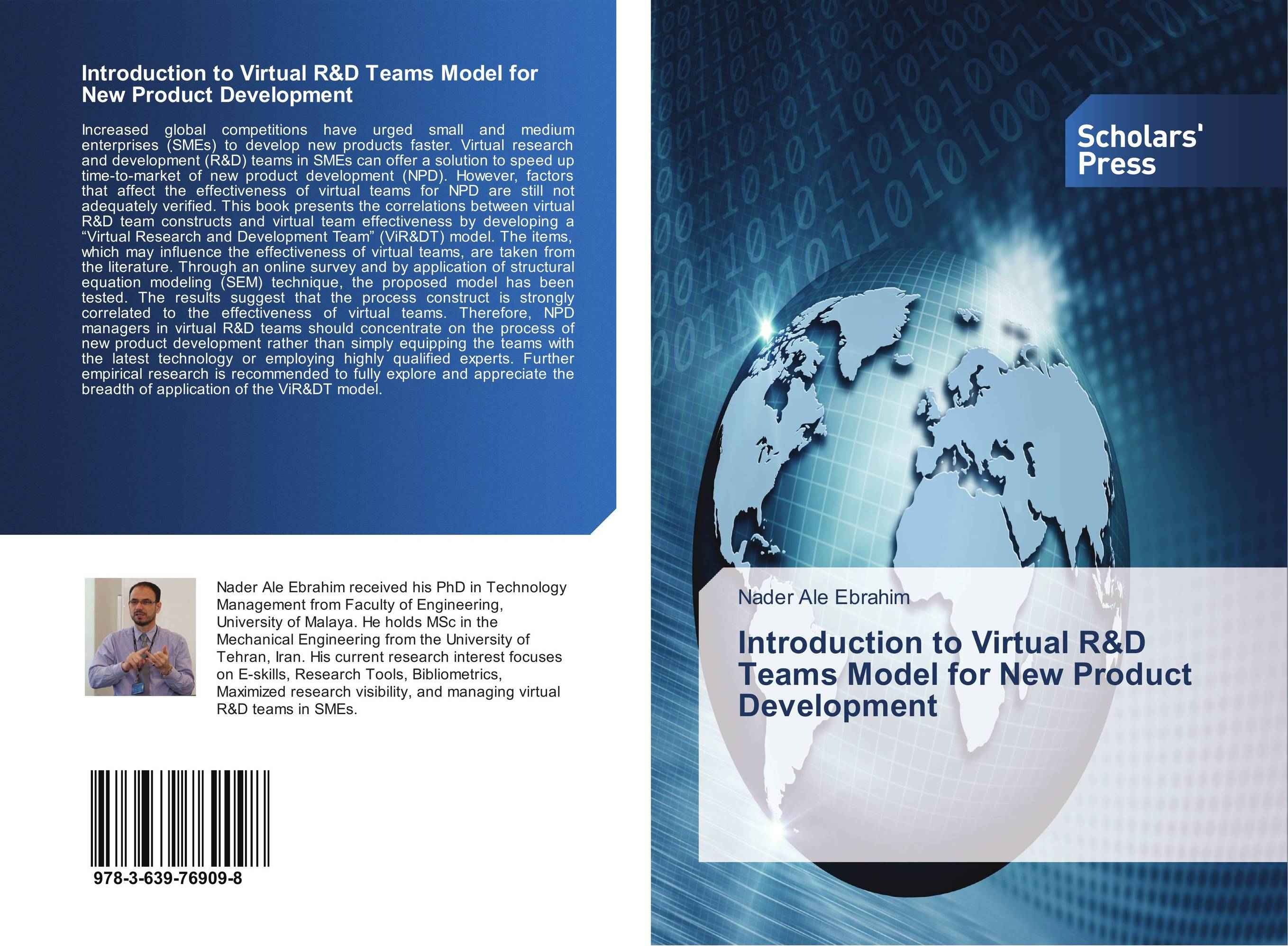 Introduction to Virtual R&D Teams Model for New Product Development team effectiveness