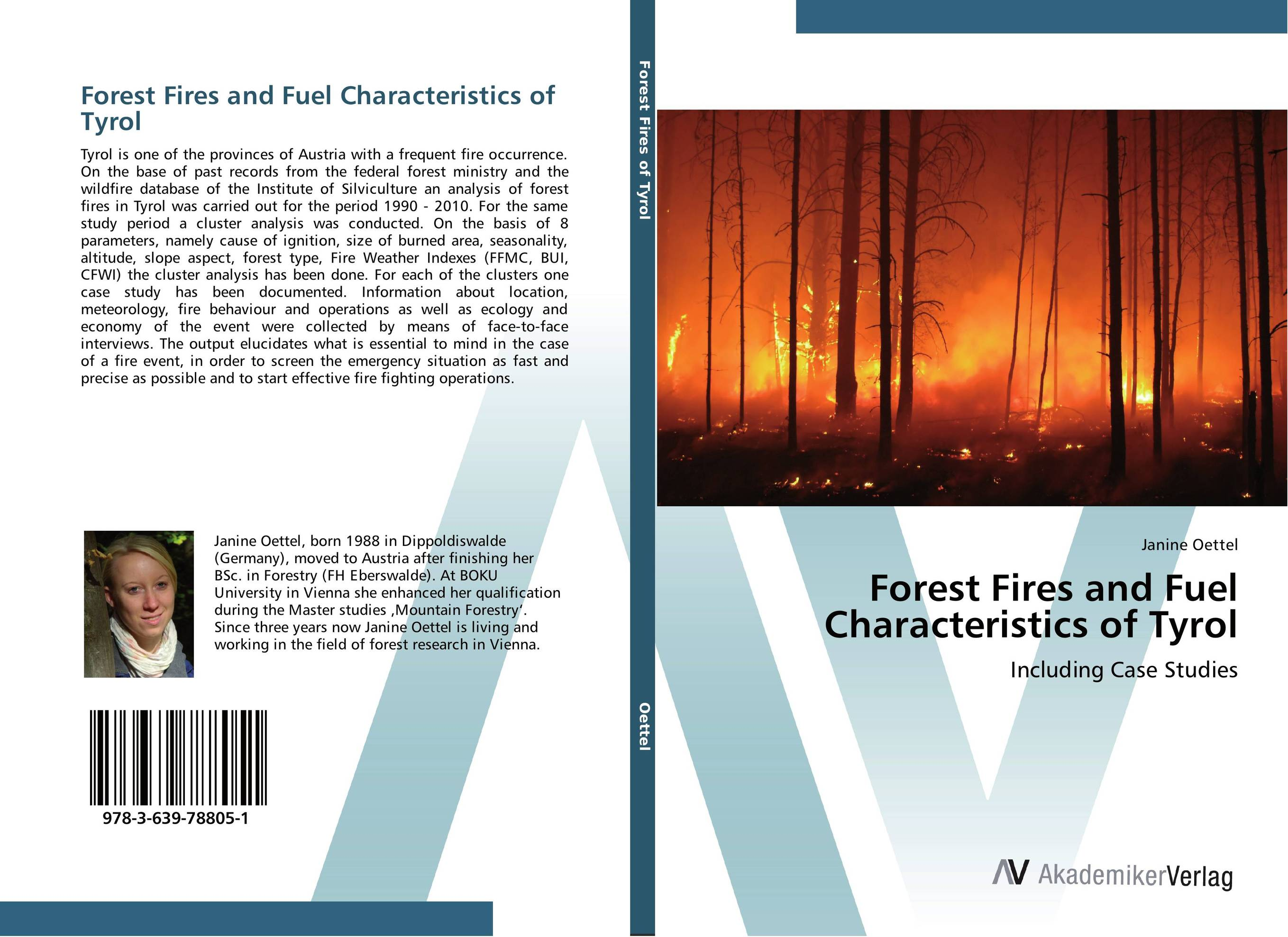 Forest Fires and Fuel Characteristics of Tyrol