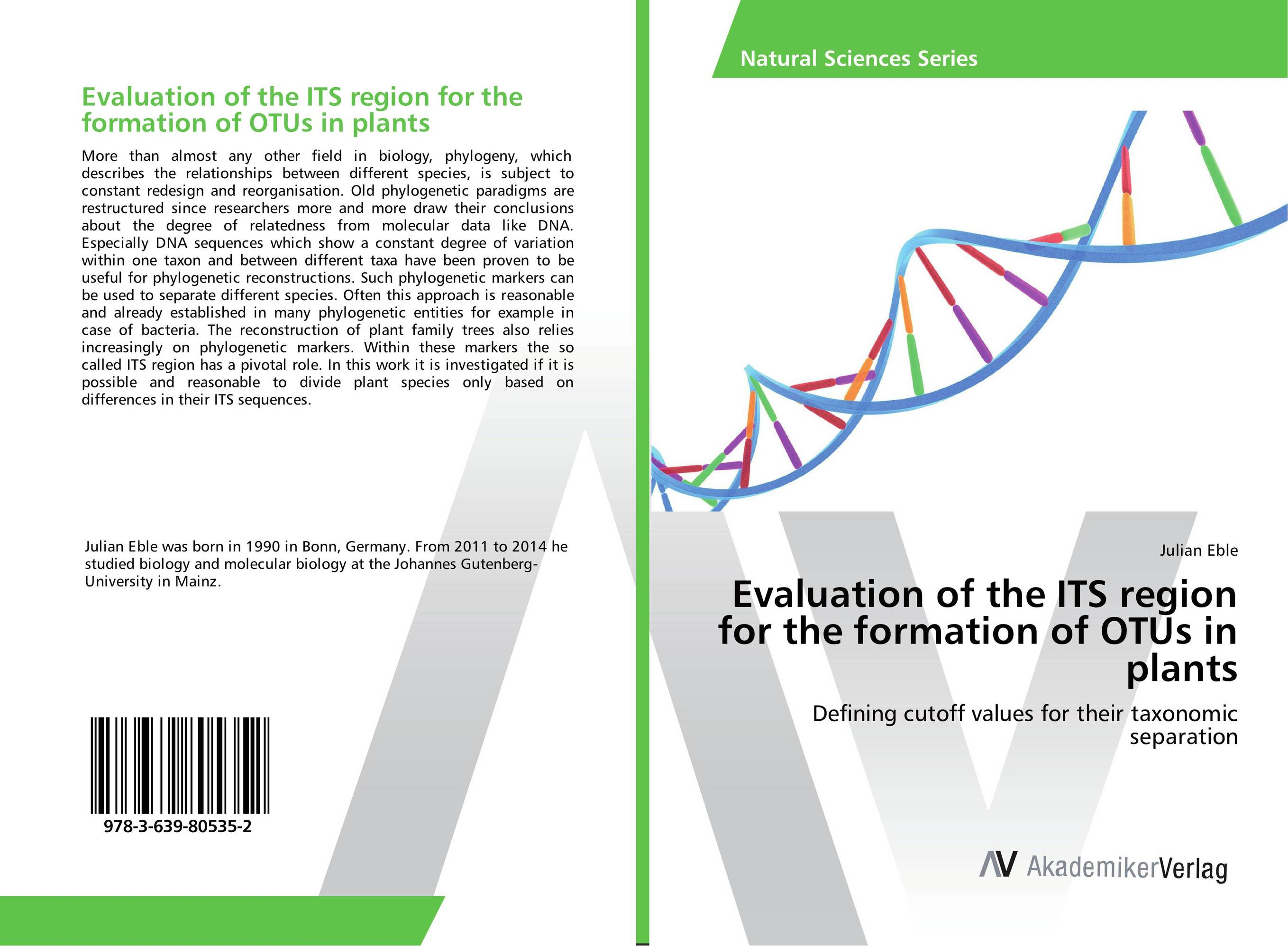 Evaluation of the ITS region for the formation of OTUs in plants building phylogenetic trees