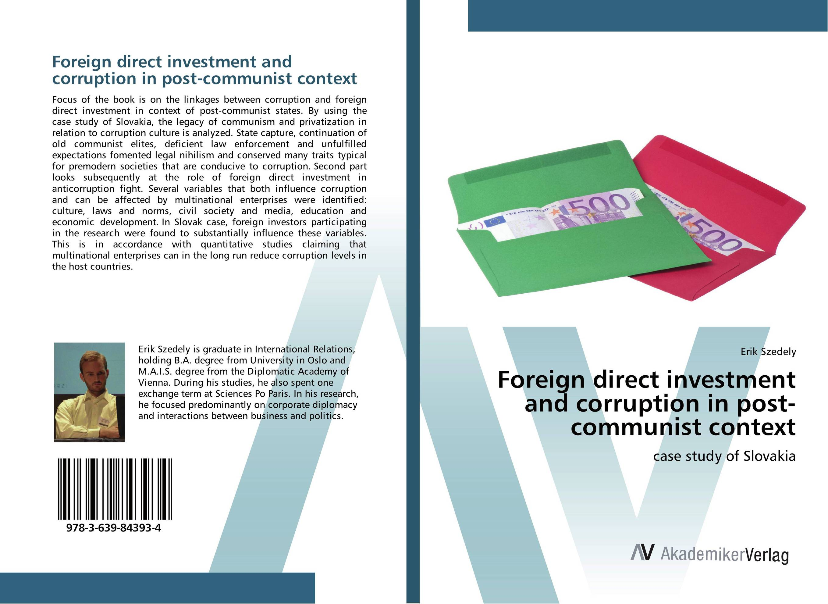 Foreign direct investment and corruption in post-communist context joshua nimako foreign direct investment laws