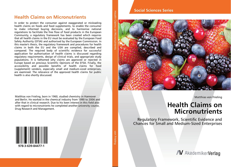 Health Claims on Micronutrients