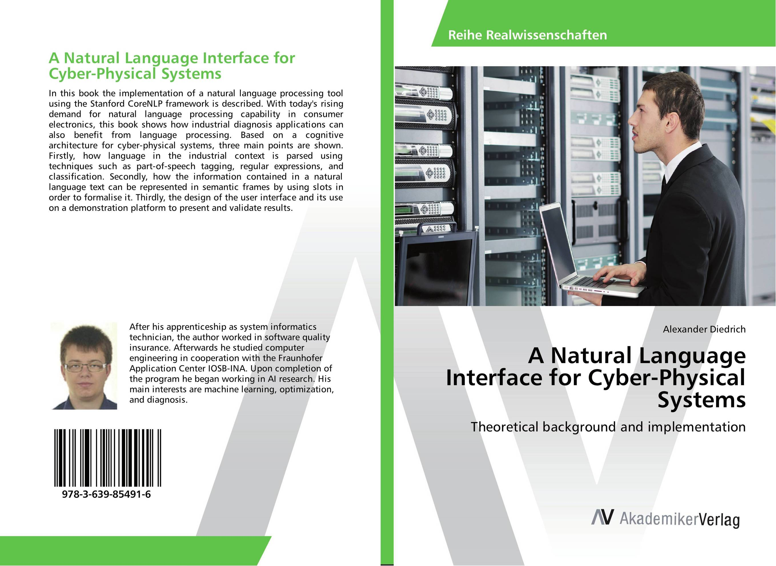 A Natural Language Interface for Cyber-Physical Systems a v kneese handbook of natural resource and energy economics 1
