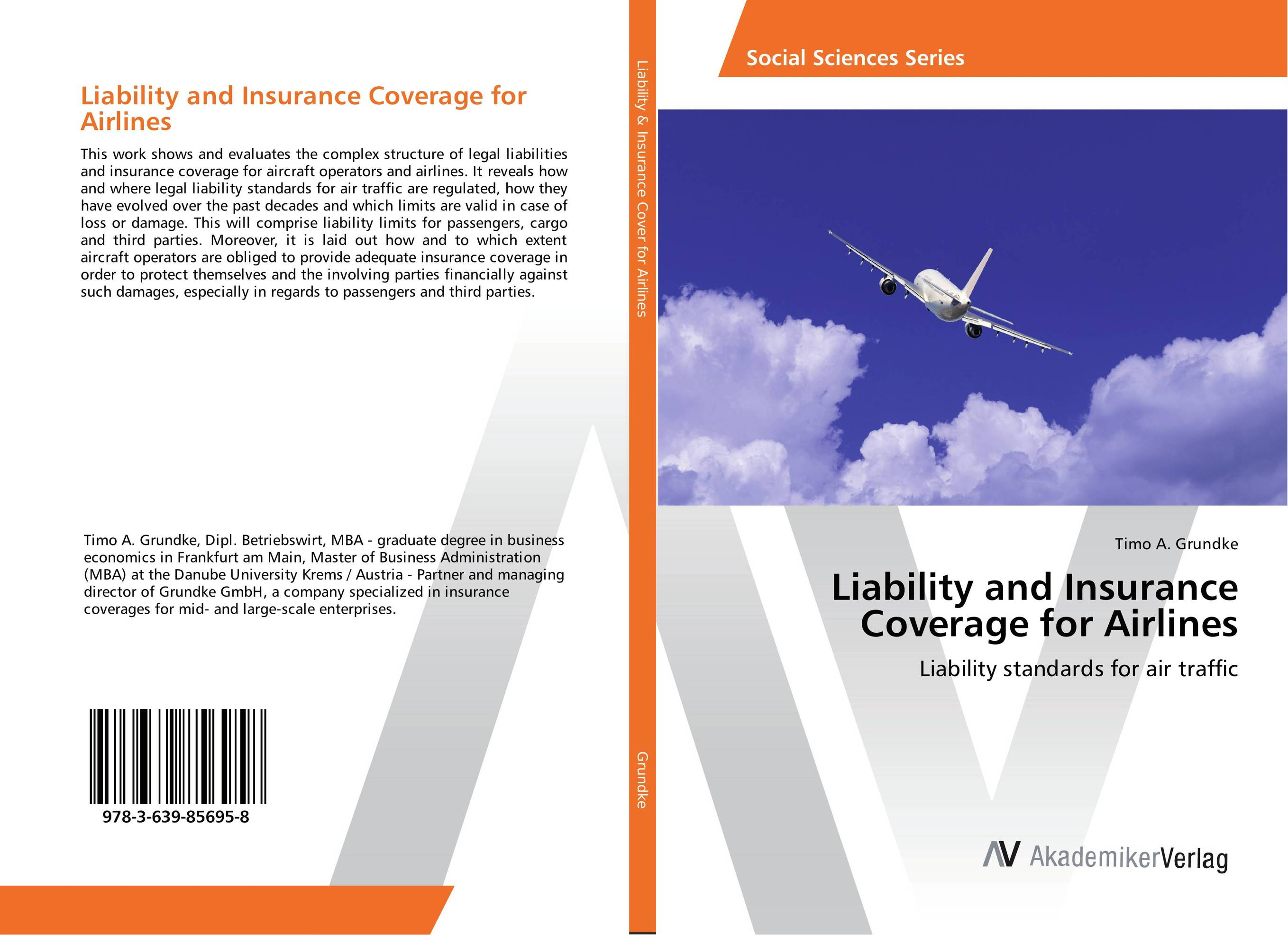 Liability and Insurance Coverage for Airlines student s sourcebook on state legal liability
