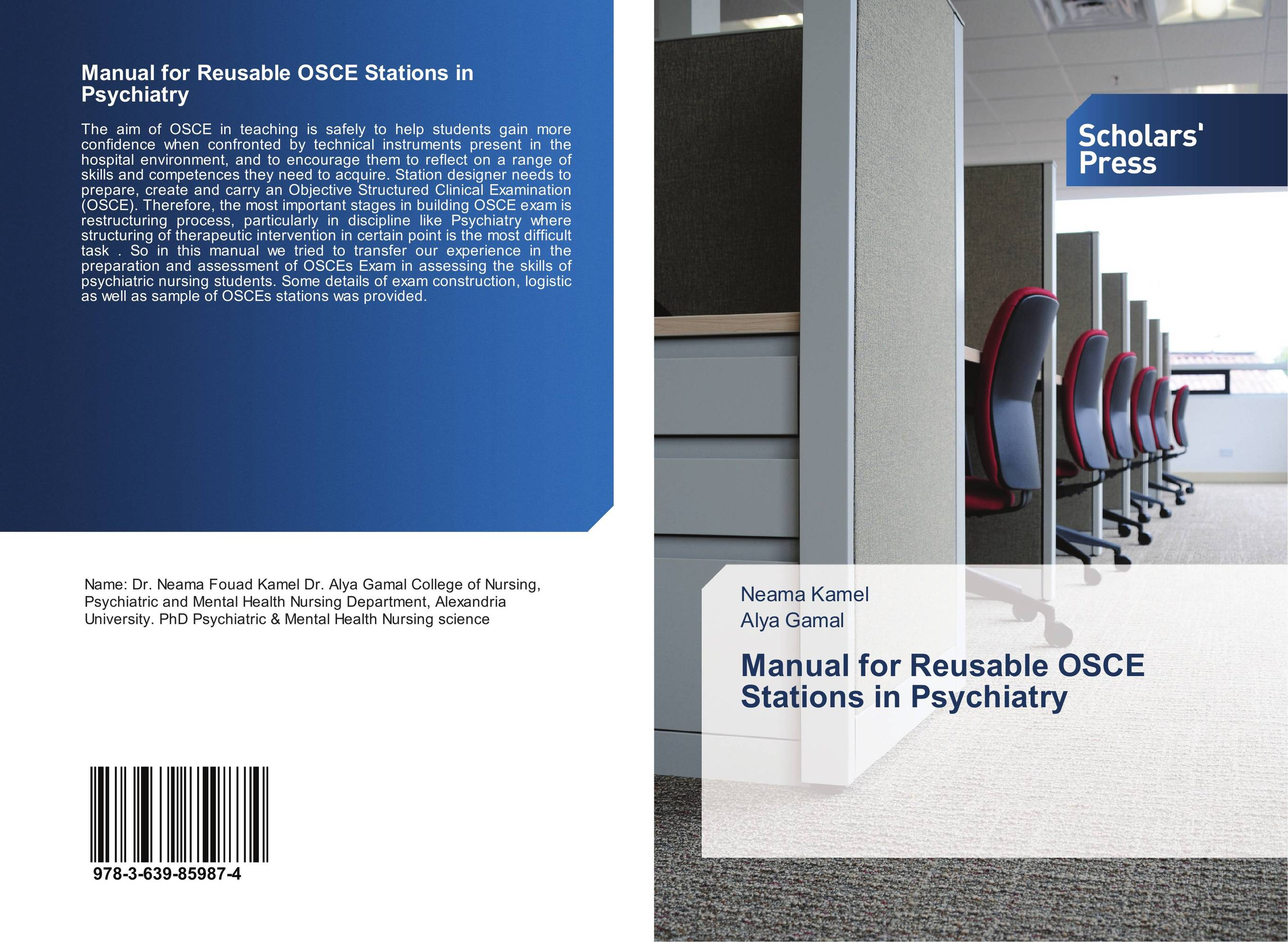 Manual for Reusable OSCE Stations in Psychiatry sports psychiatry