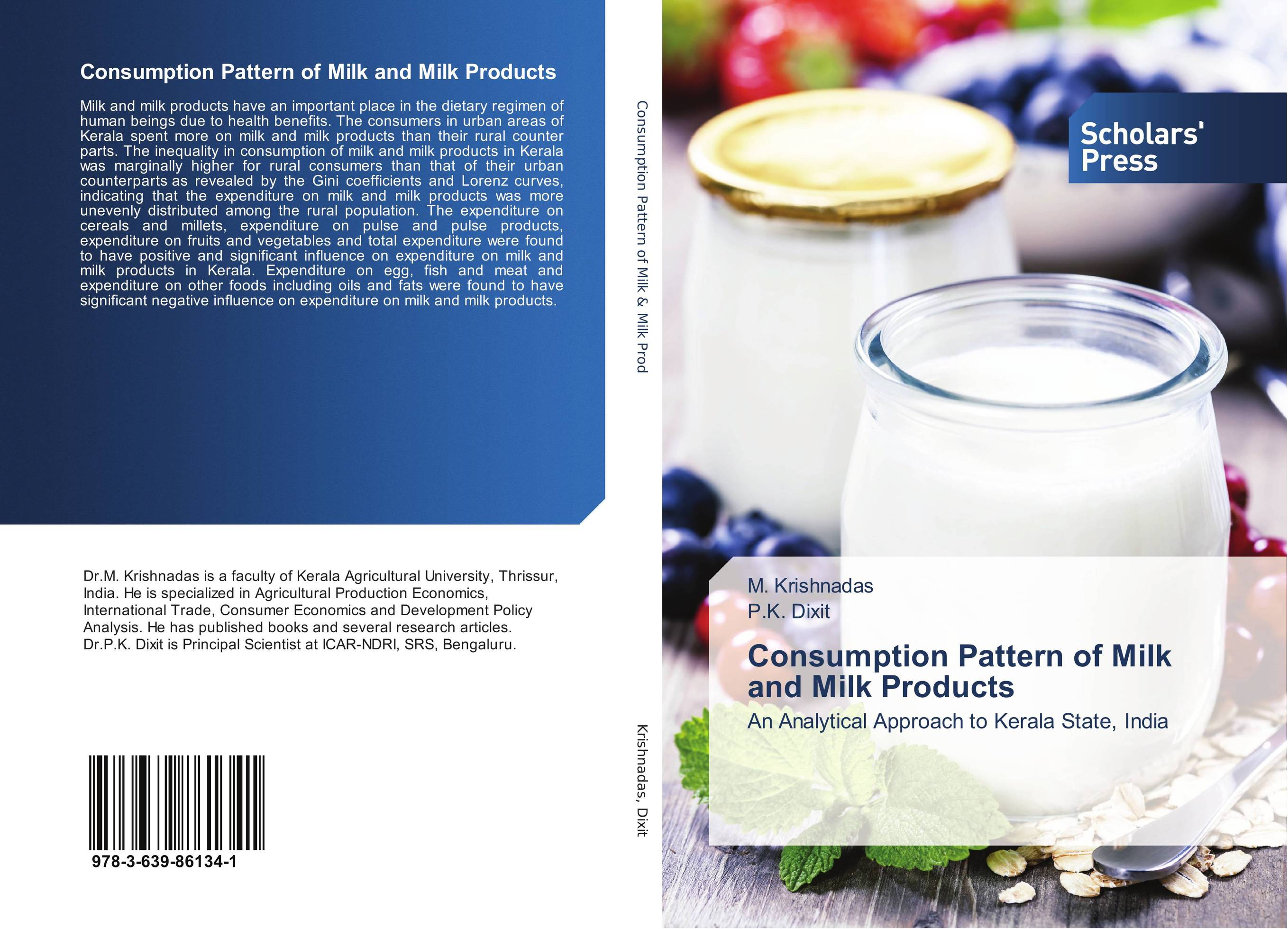 Consumption Pattern of Milk and Milk Products