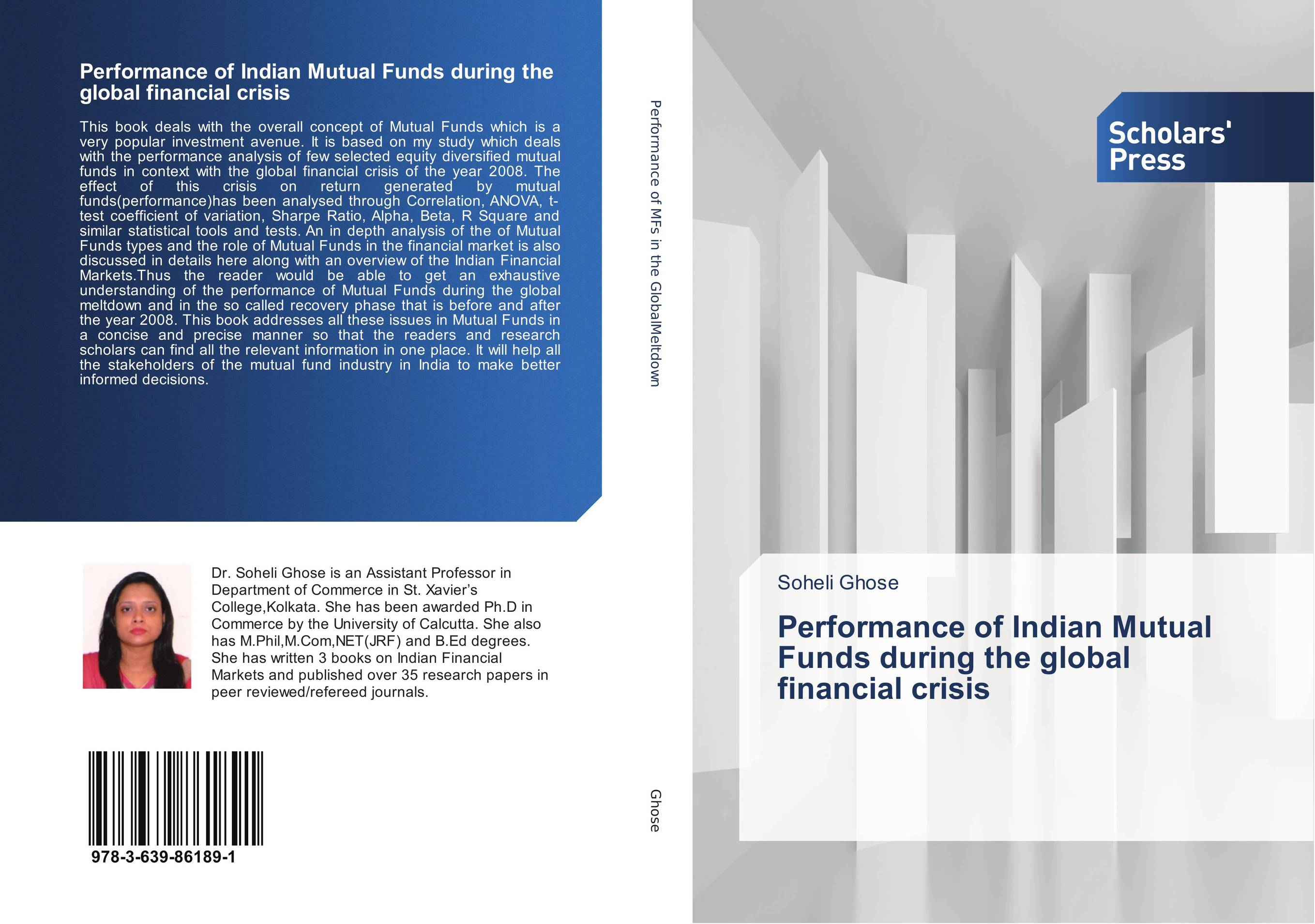 Performance of Indian Mutual Funds during the global financial crisis financial performance analysis