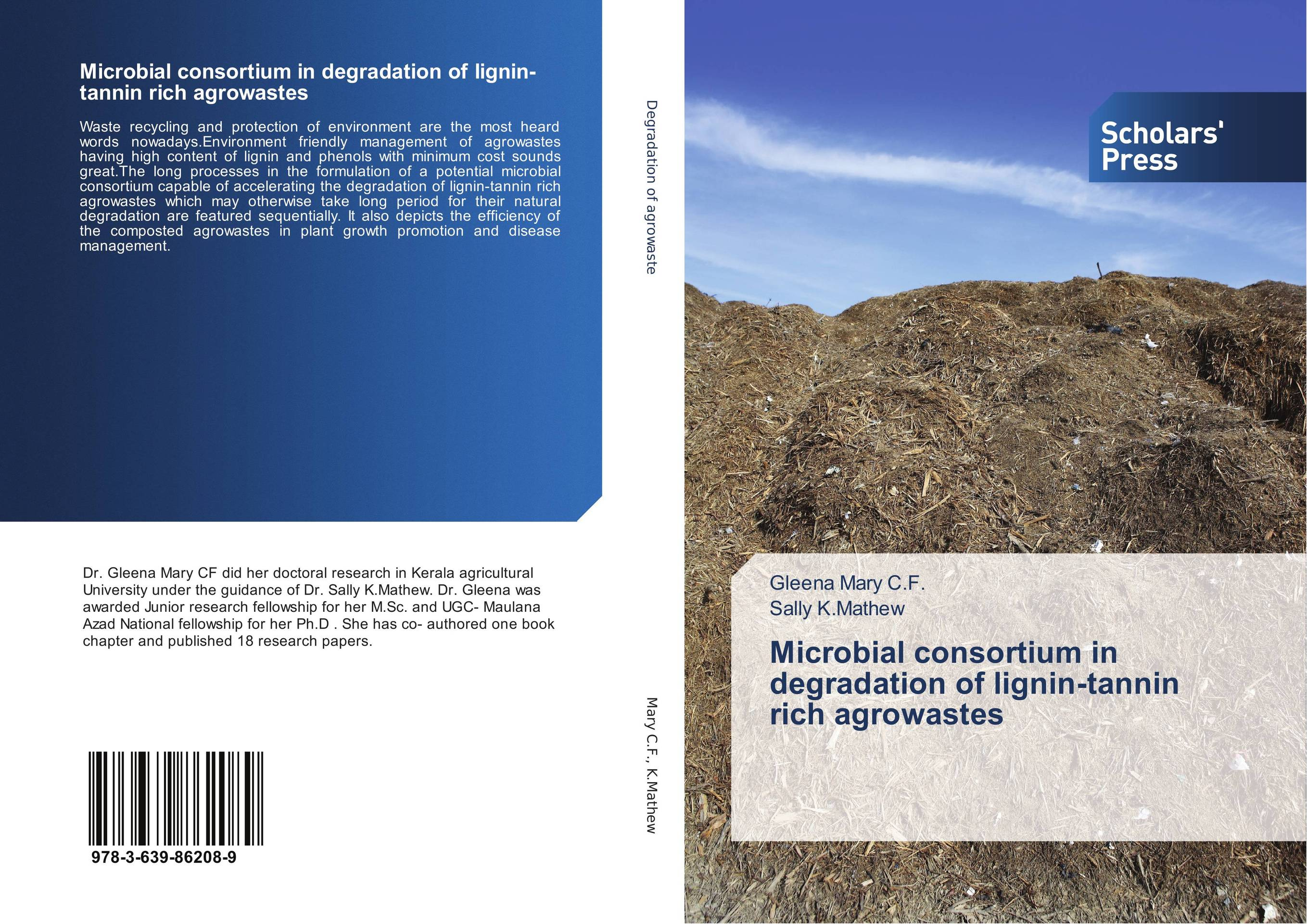 Microbial consortium in degradation of lignin-tannin rich agrowastes ruminant feeds evaluation for microbial biomass synthesis efficiency