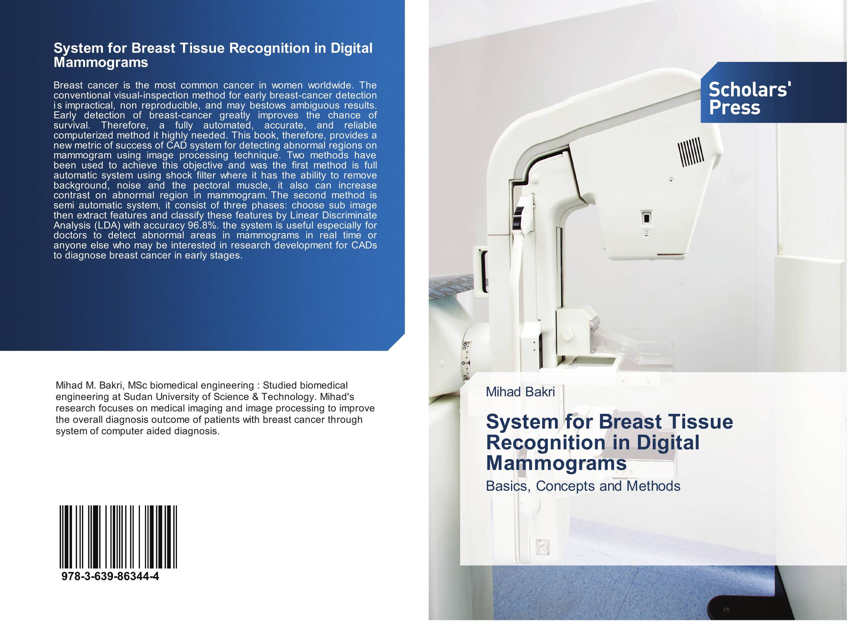System for Breast Tissue Recognition in Digital Mammograms breast cancer detection device for the breast cancer awareness and detections of breast cancer