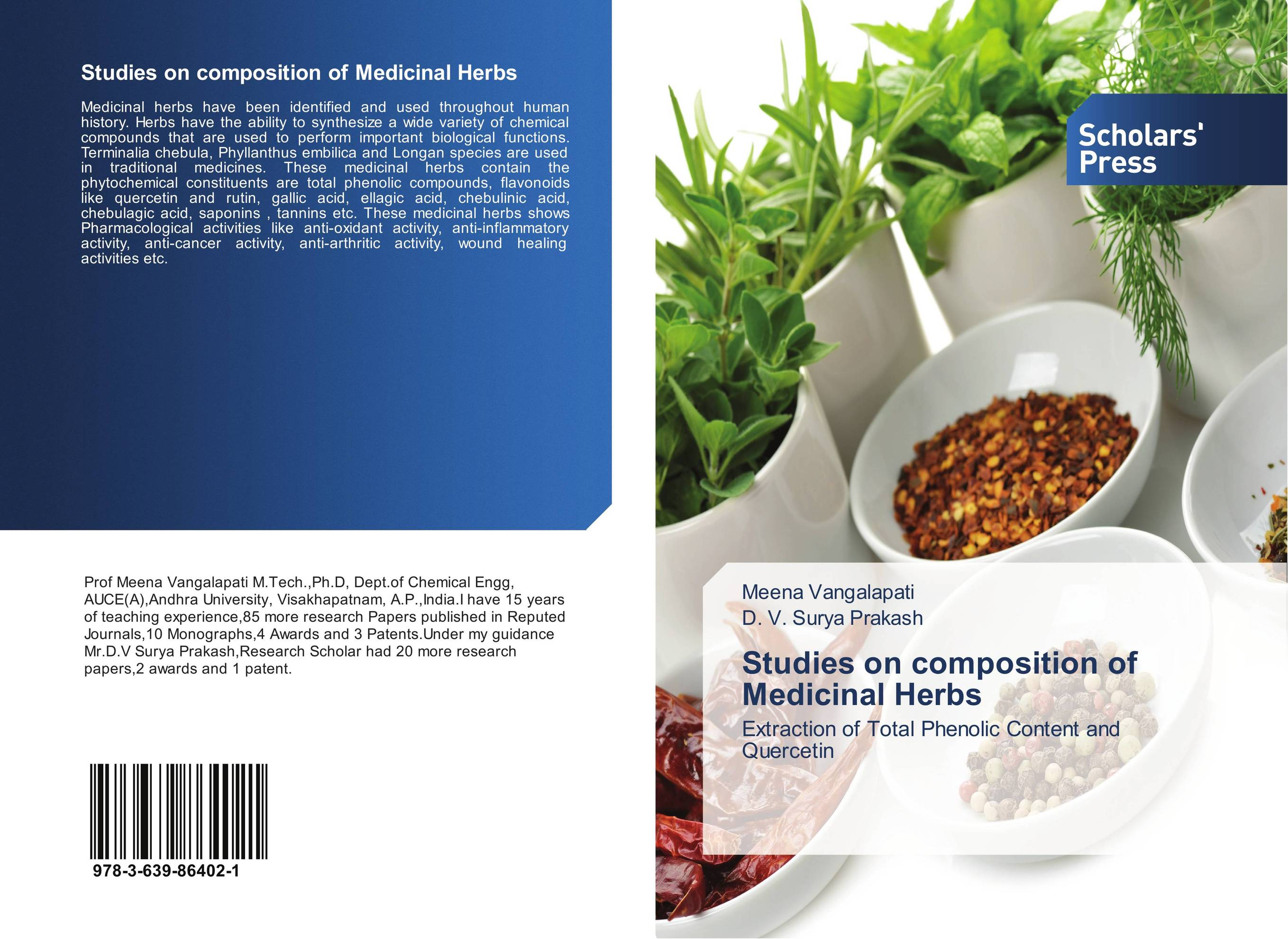 Studies on composition of Medicinal Herbs arumugam madeswaran computational studies of anti inflammatory activity of some flavonoids