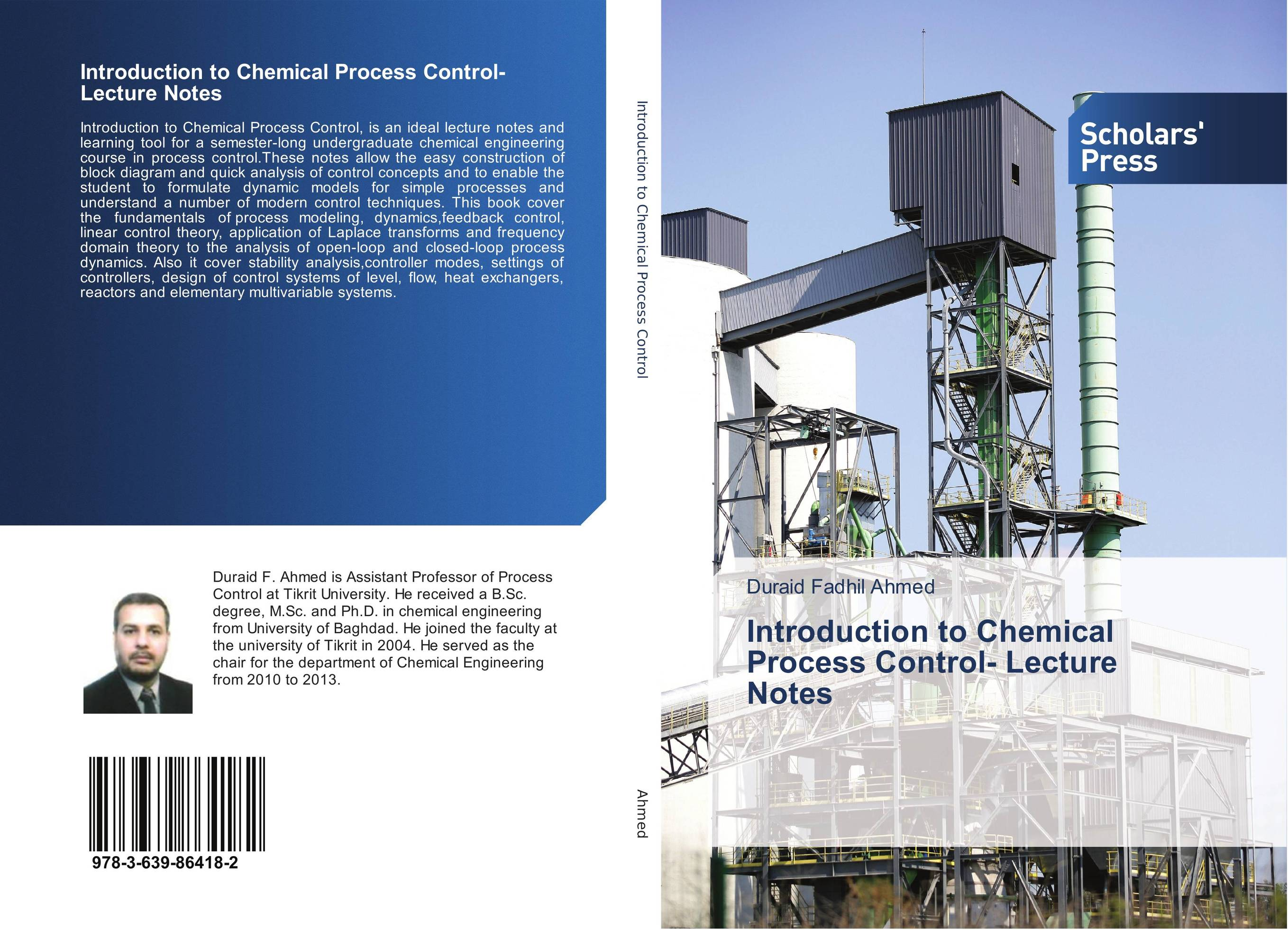 Introduction to Chemical Process Control- Lecture Notes lecture notes emergency medicine