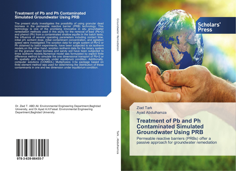 Treatment of Pb and Ph Contaminated Simulated Groundwater Using PRB nicholas p cheremisinoff groundwater remediation and treatment technologies