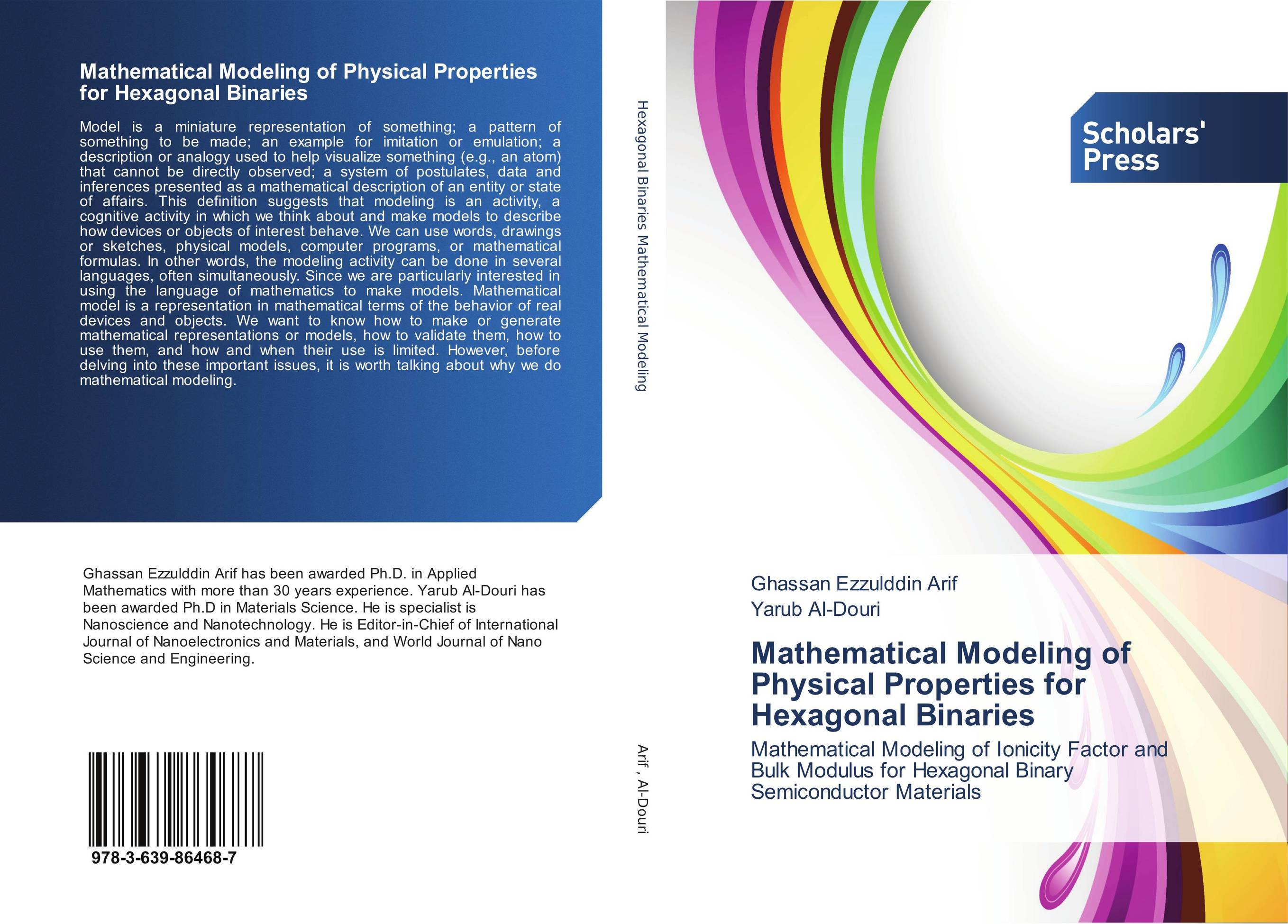 Mathematical Modeling of Physical Properties for Hexagonal Binaries mathematical modeling for the mcm icm co