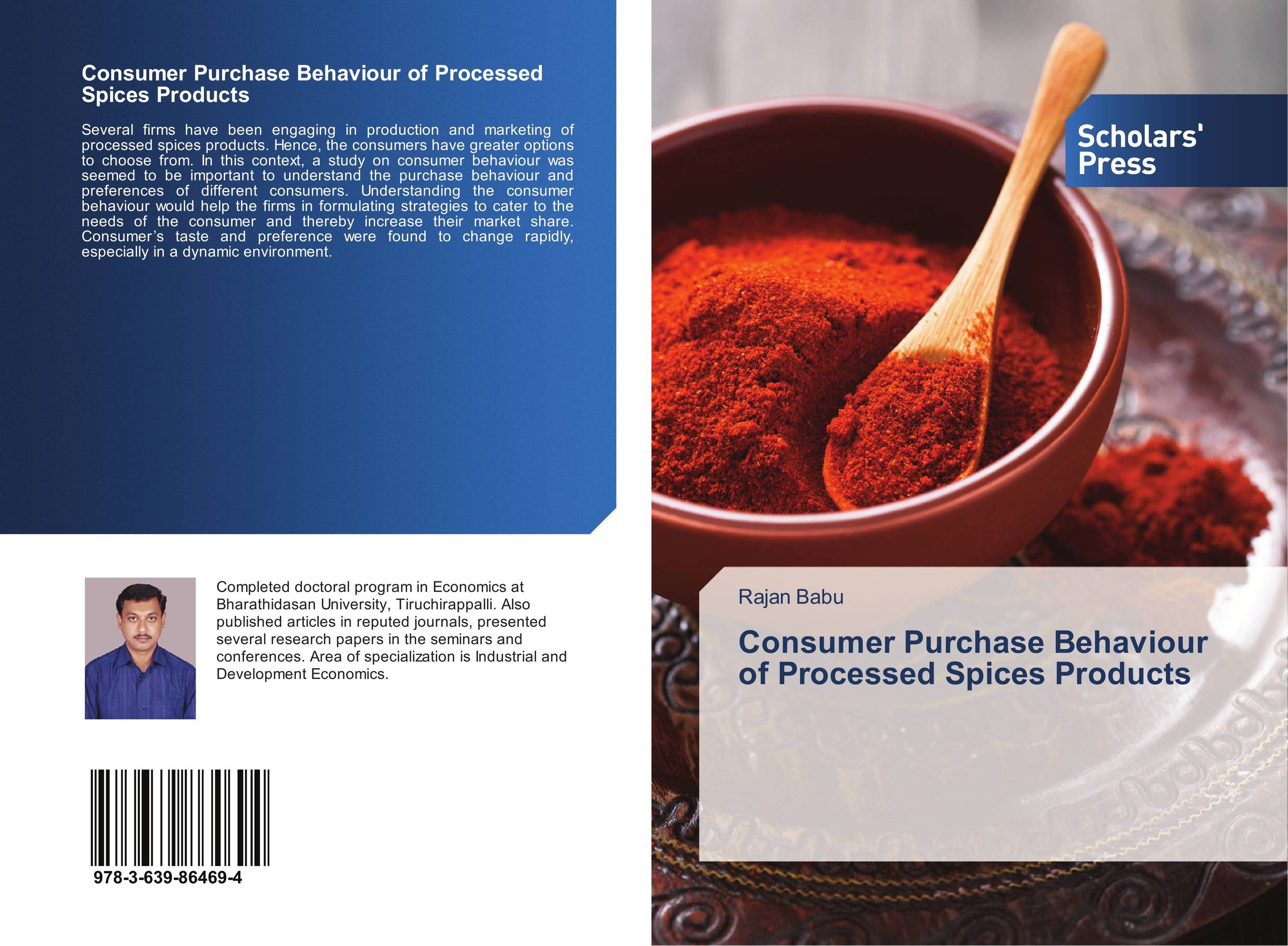 Consumer Purchase Behaviour of Processed Spices Products