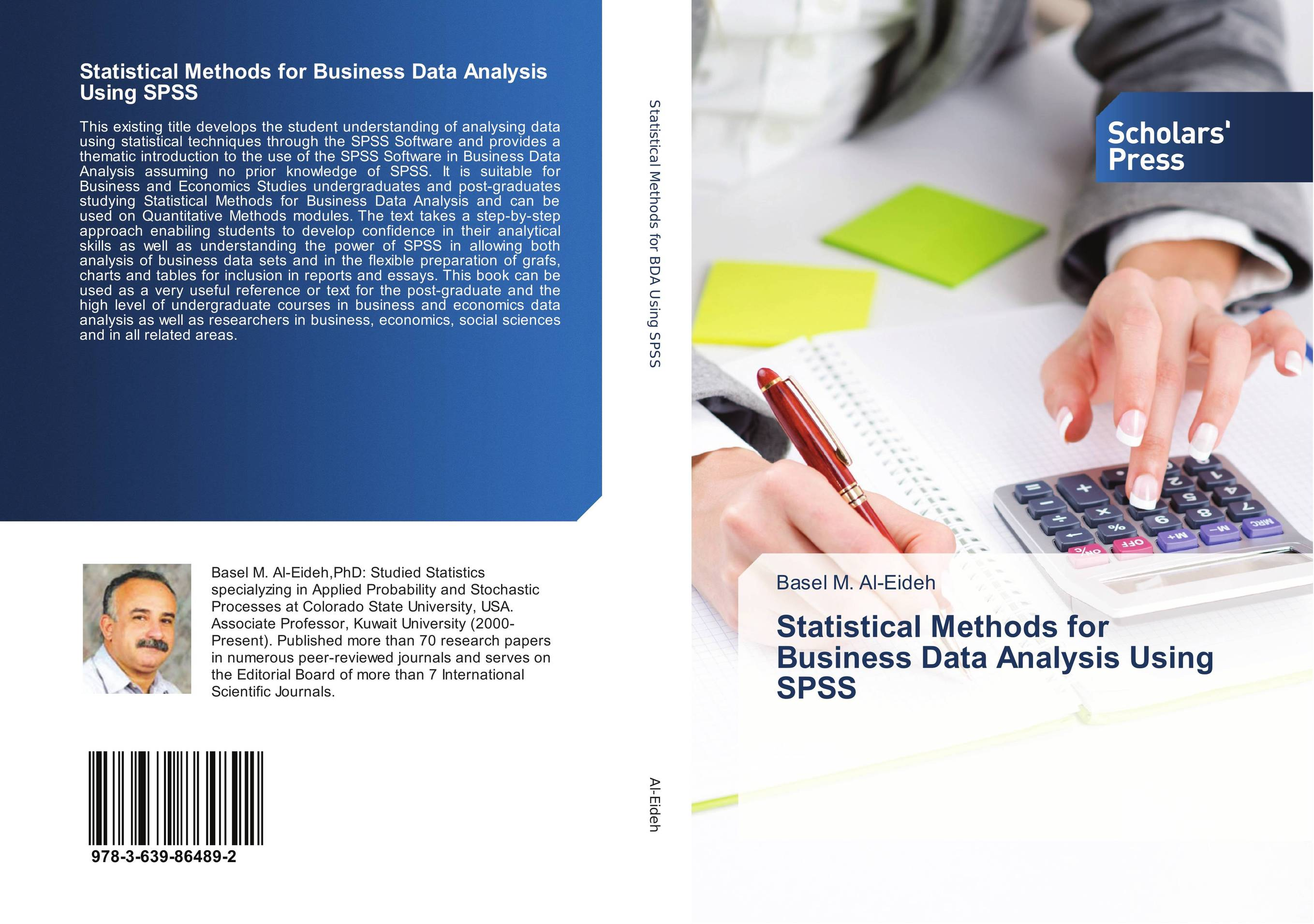Statistical Methods for Business Data Analysis Using SPSS