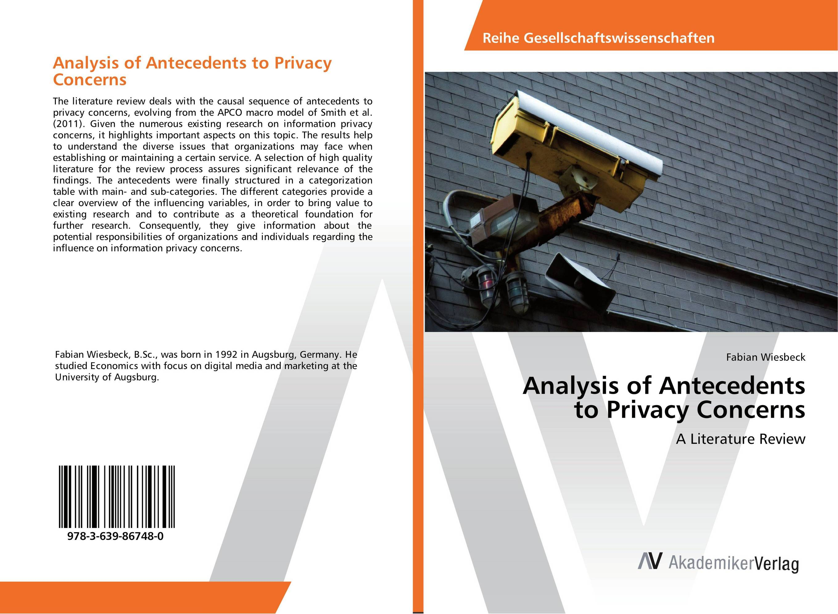 Analysis of Antecedents to Privacy Concerns a research literature review of topology optimization