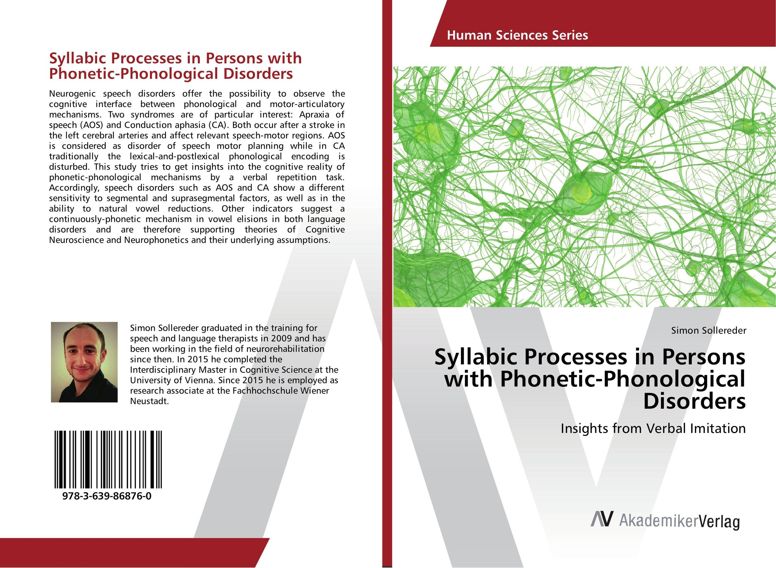 Syllabic Processes in Persons with Phonetic-Phonological Disorders identification processes of articulation and phonemic disorders