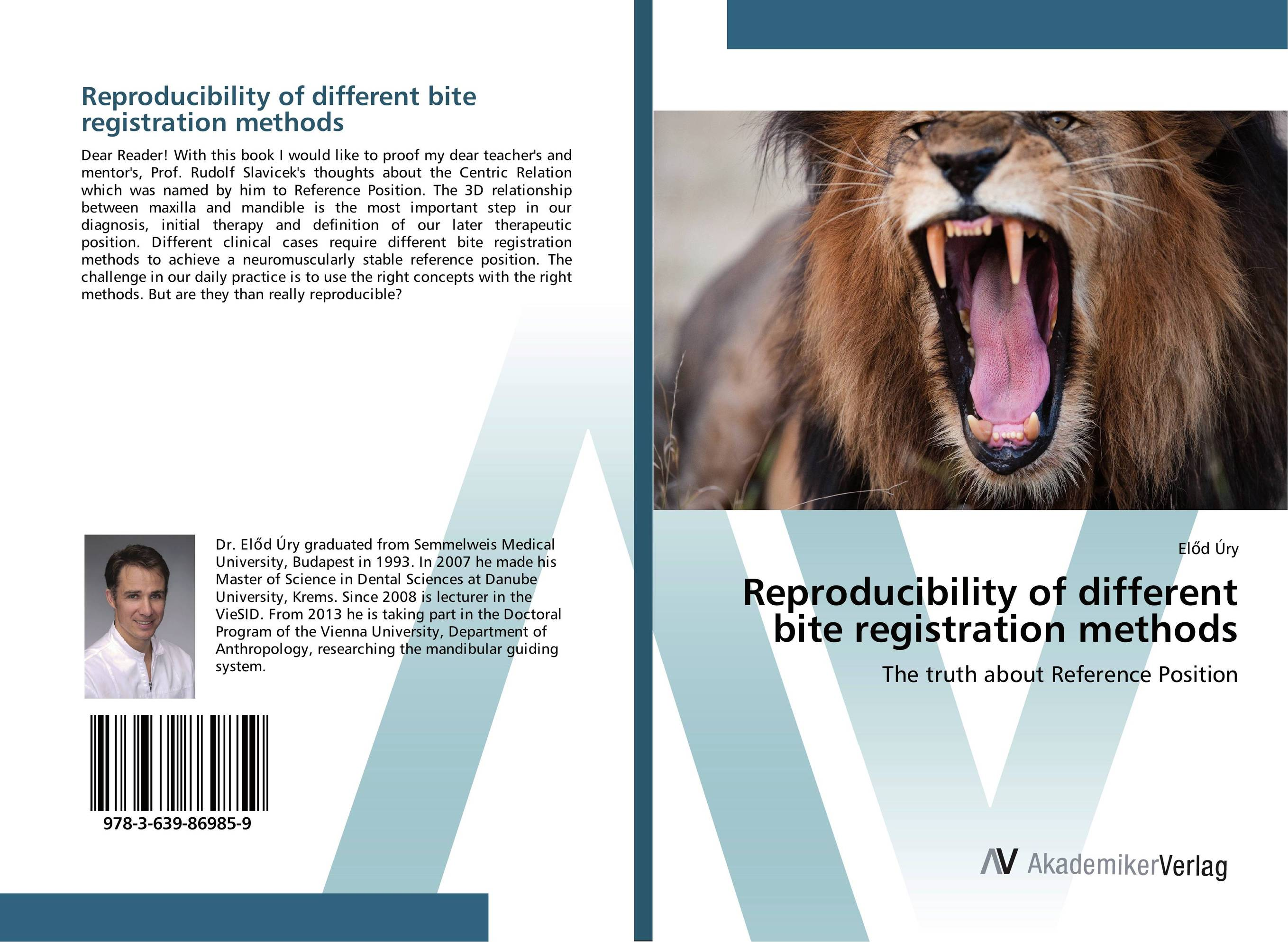 Reproducibility of different bite registration methods my own dear brother