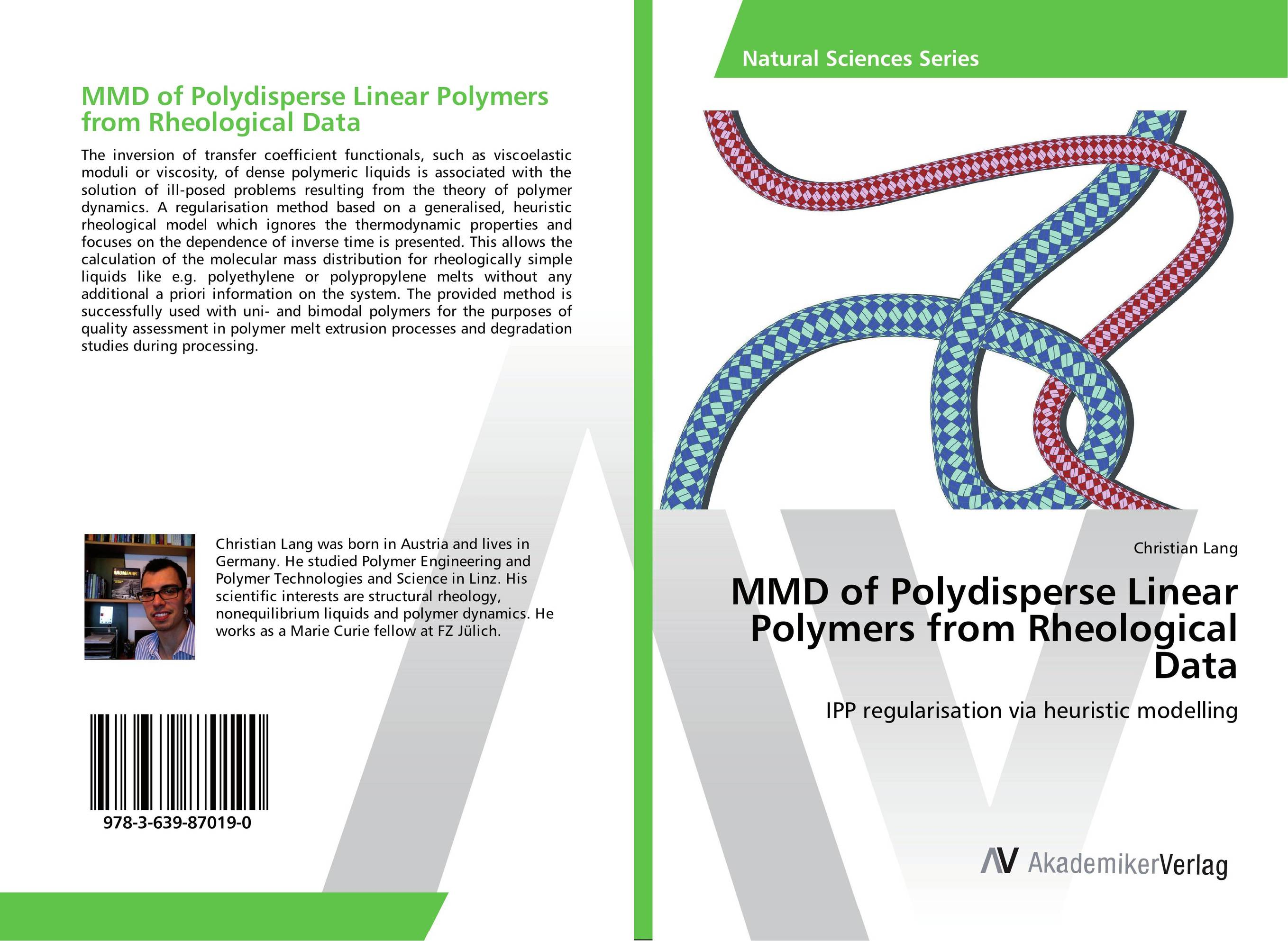 MMD of Polydisperse Linear Polymers from Rheological Data jean pierre hansen theory of simple liquids