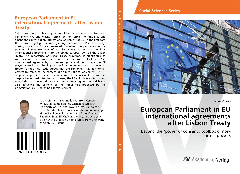 European Parliament in EU international agreements after Lisbon Treaty