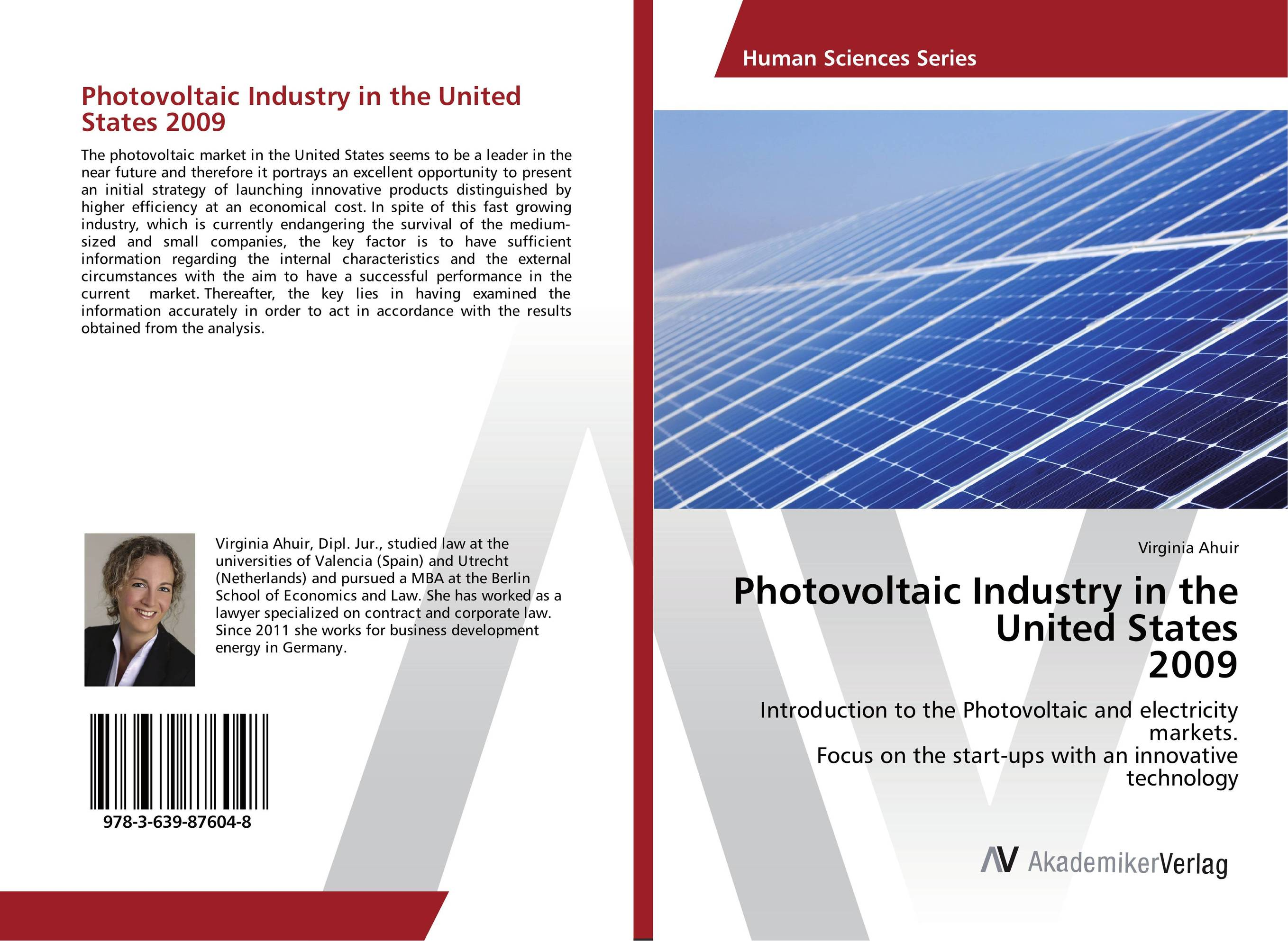 Photovoltaic Industry in the United States 2009