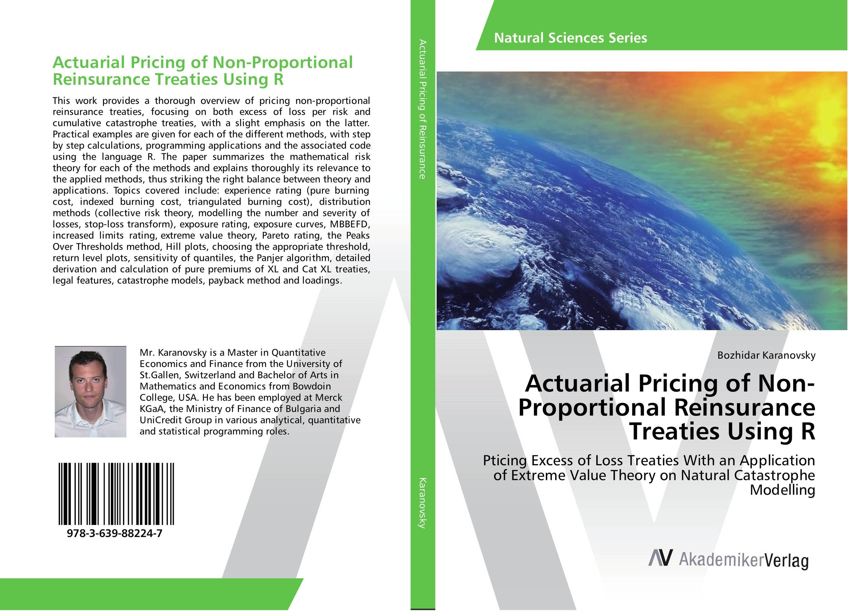 Actuarial Pricing of Non-Proportional Reinsurance Treaties Using R