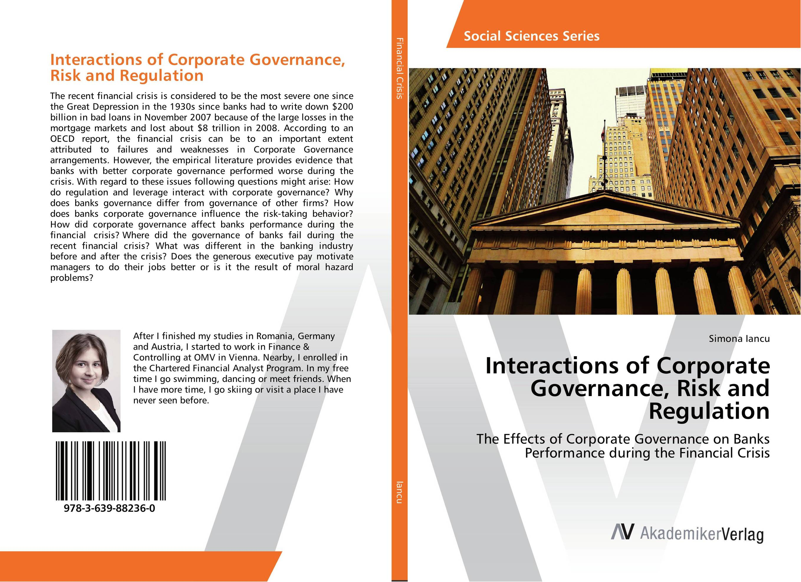 Interactions of Corporate Governance, Risk and Regulation srichander ramaswamy managing credit risk in corporate bond portfolios a practitioner s guide