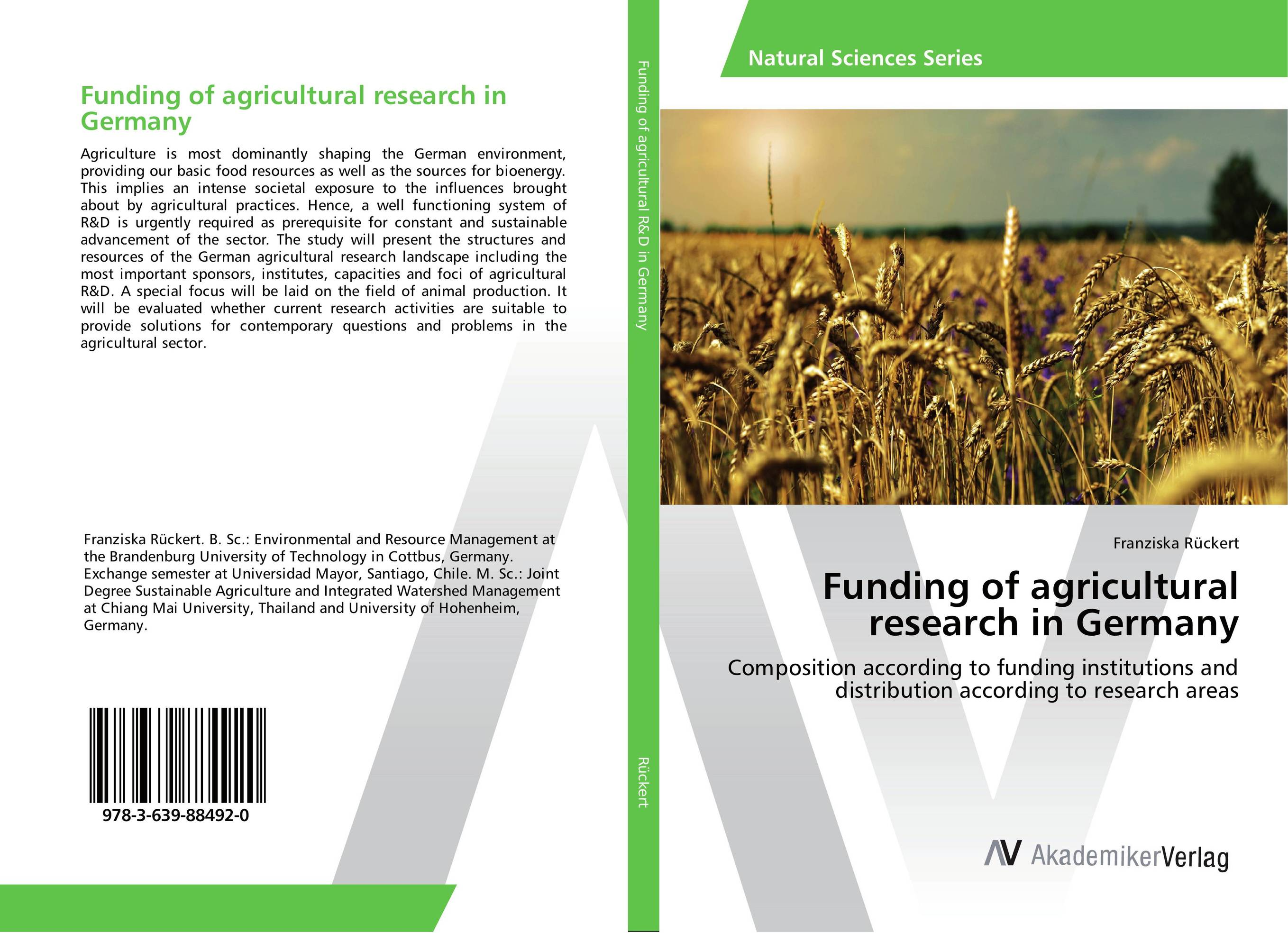 Funding of agricultural research in Germany cold storage accessibility and agricultural production by smallholders