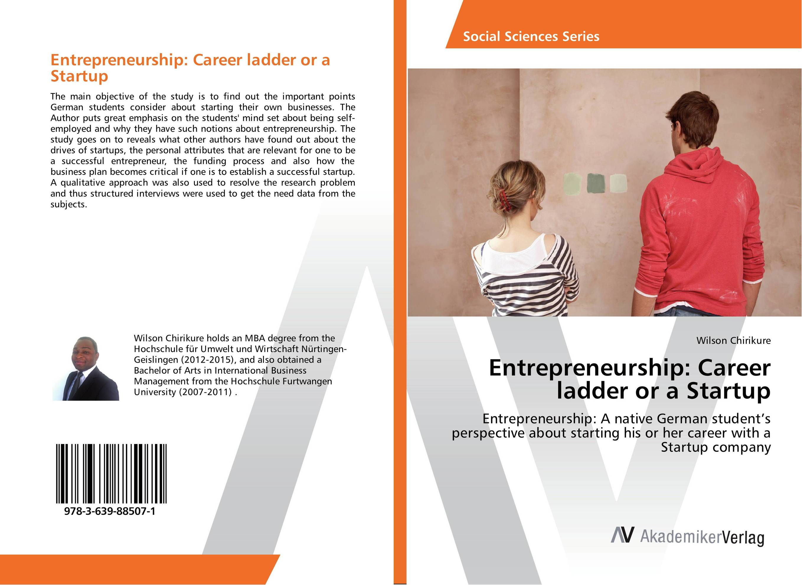 Entrepreneurship: Career ladder or a Startup