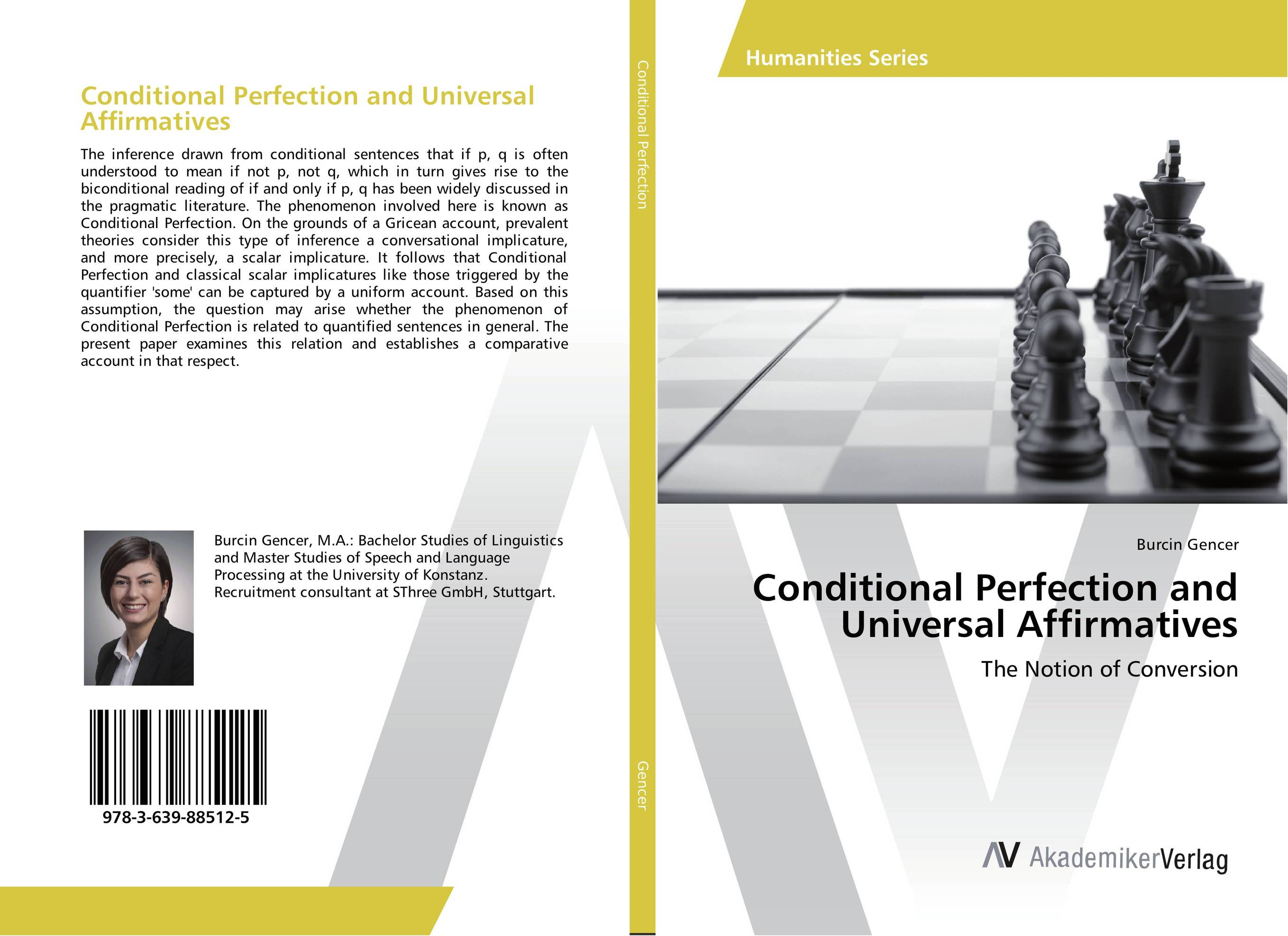 Conditional Perfection and Universal Affirmatives
