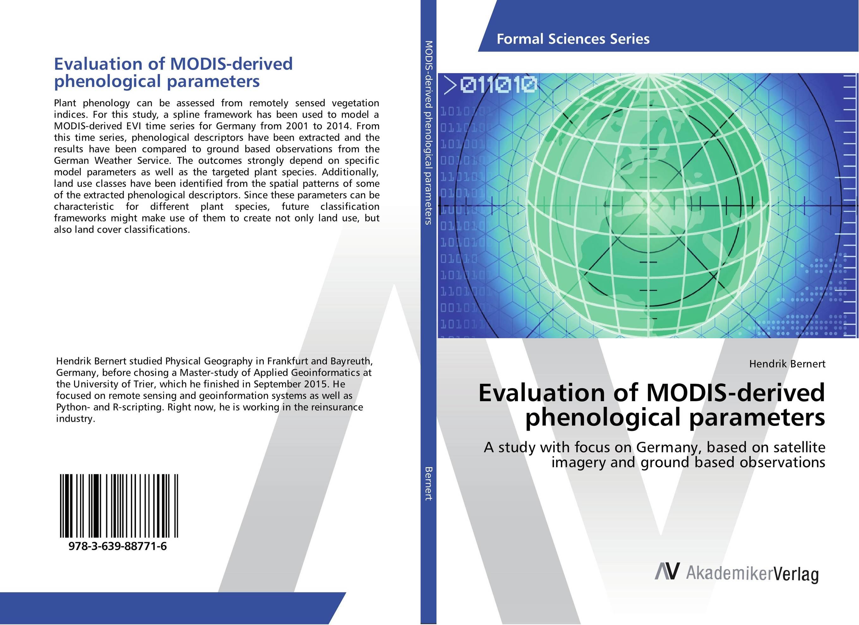 Evaluation of MODIS-derived phenological parameters юбка modis modis mo044ewvfv41