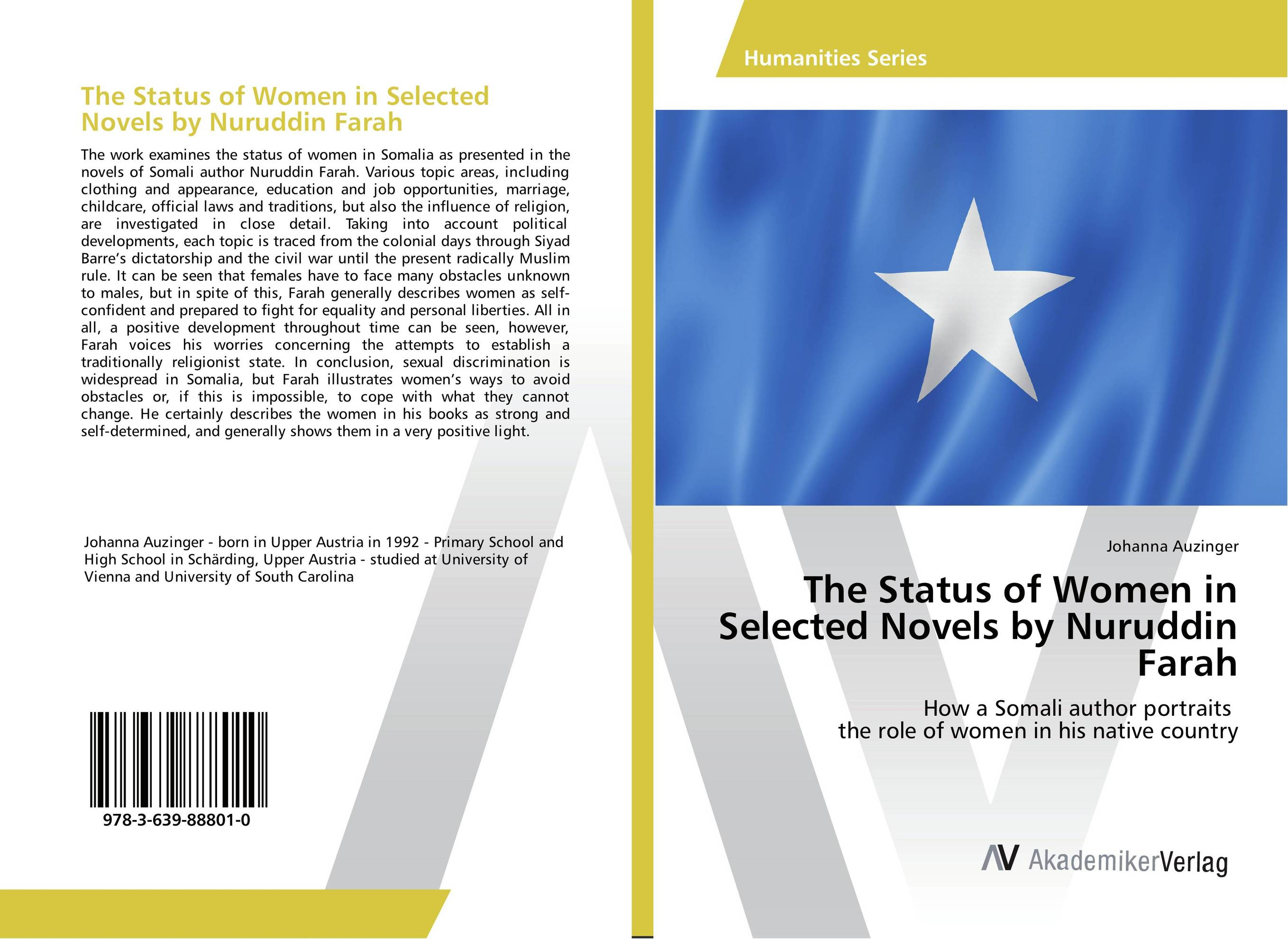 The Status of Women in Selected Novels by Nuruddin Farah selected novels of george eliot