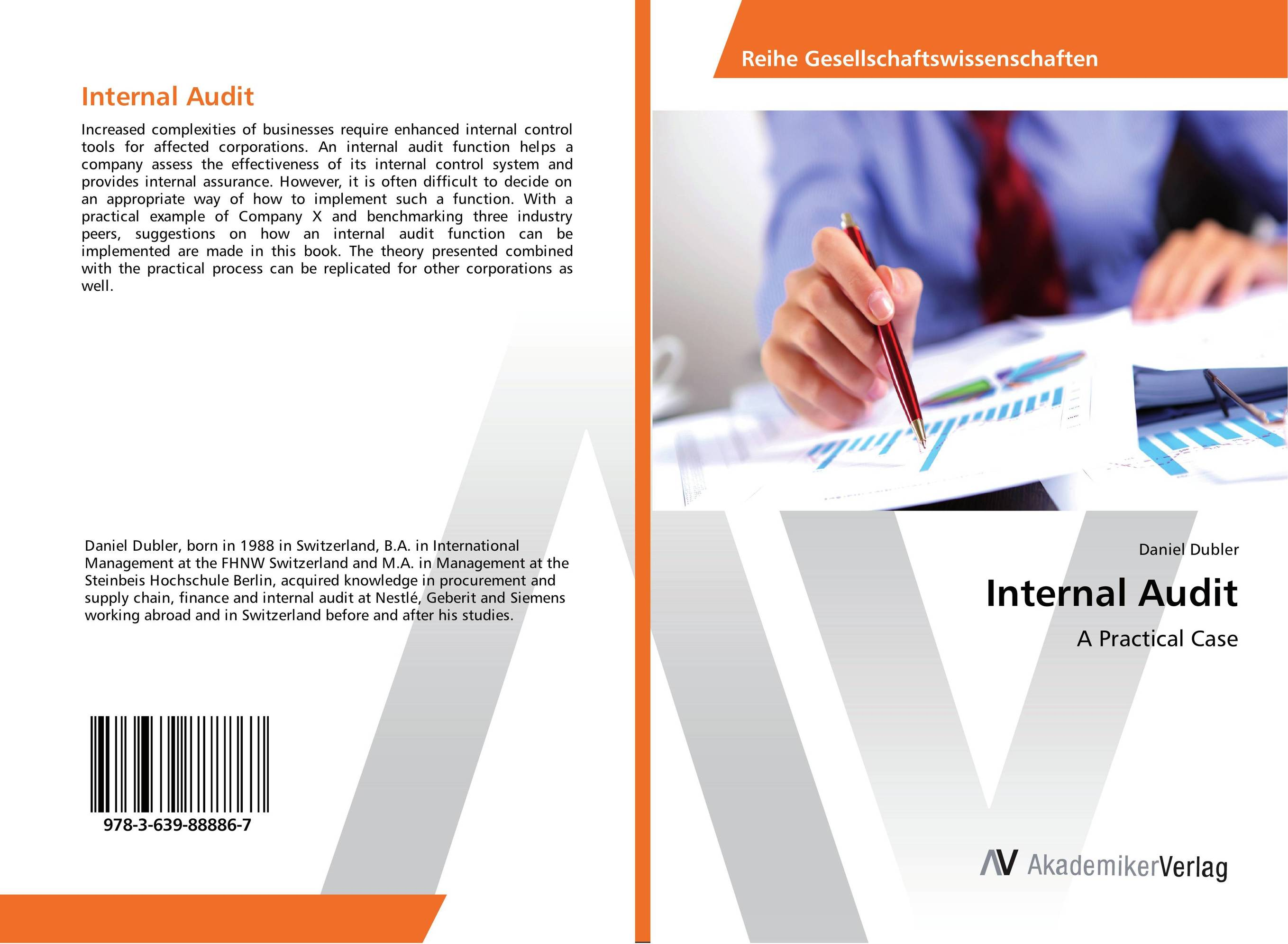 Internal Audit evaluation of the internal control practices