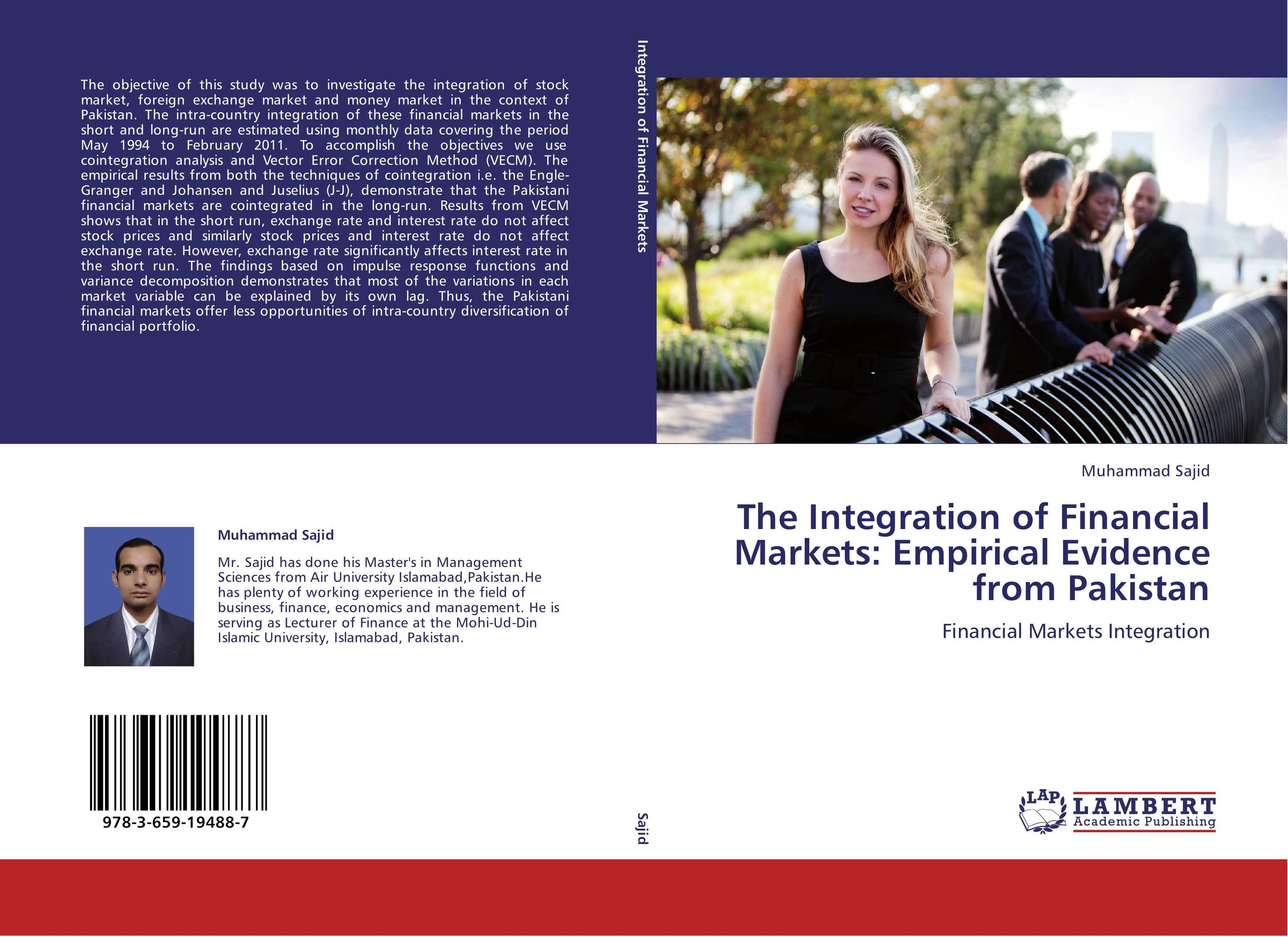 The Integration of Financial Markets: Empirical Evidence from Pakistan купить