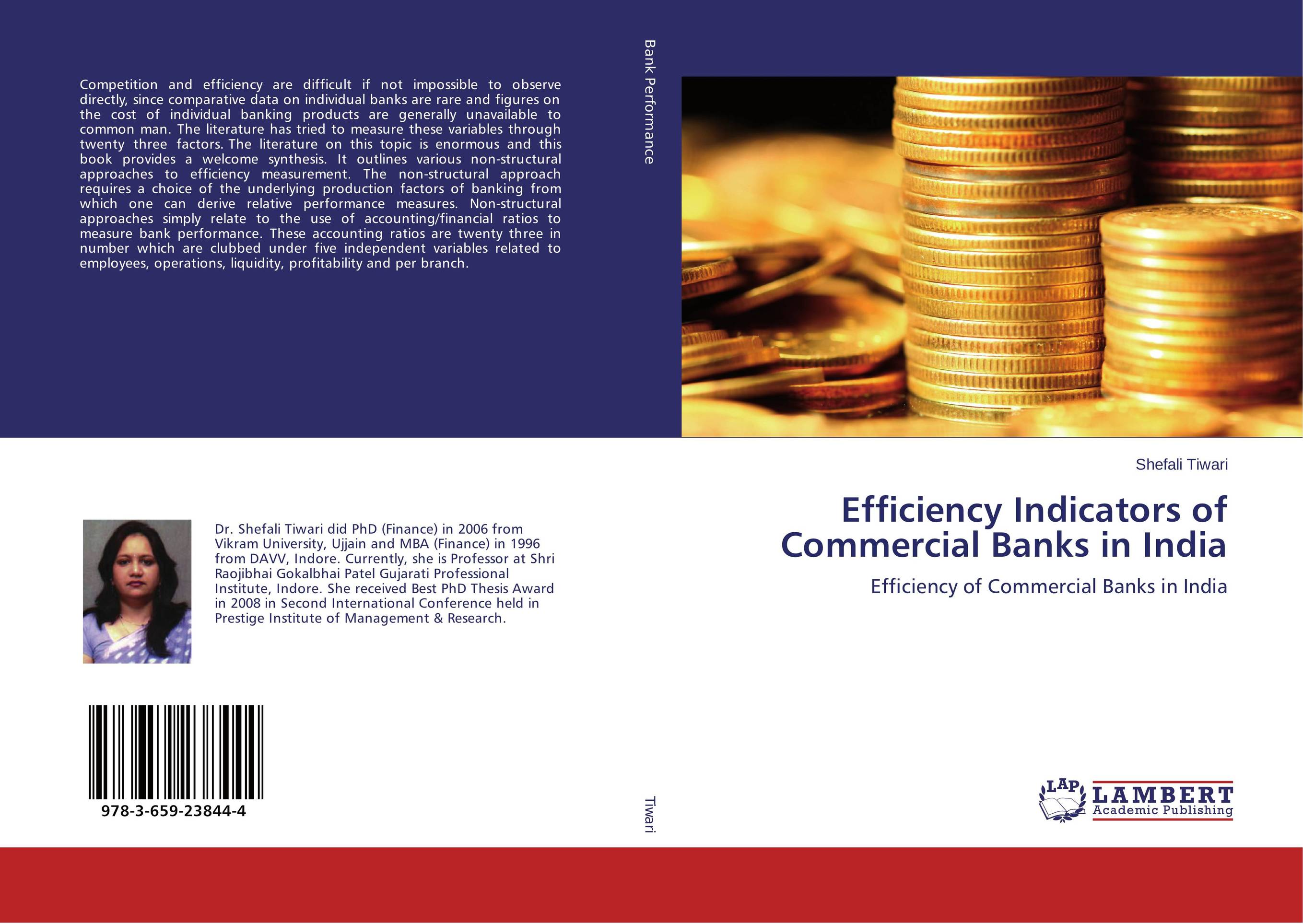 Efficiency Indicators of Commercial Banks in India the twenty three