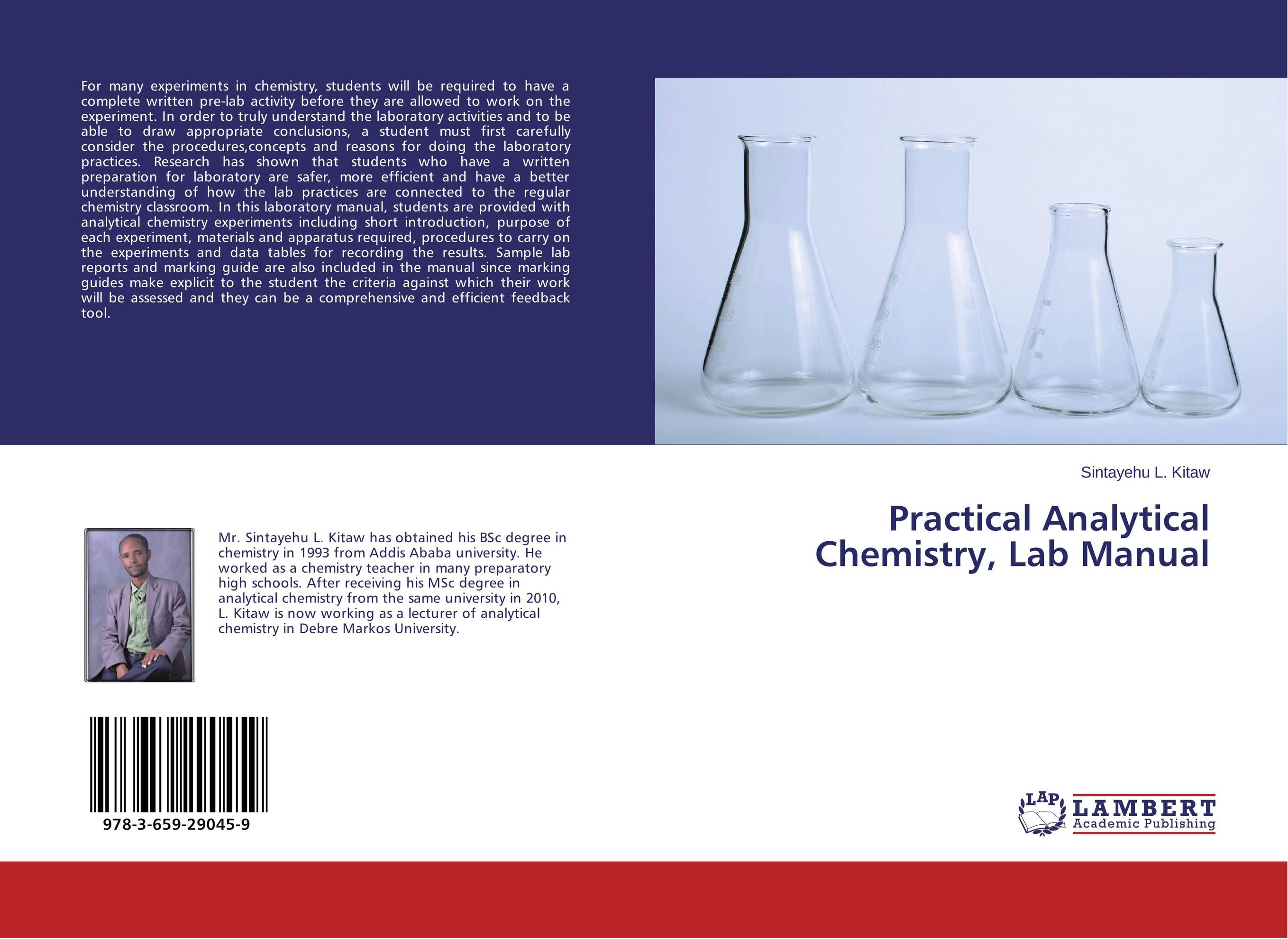 Practical Analytical Chemistry, Lab Manual green analytical chemistry 56