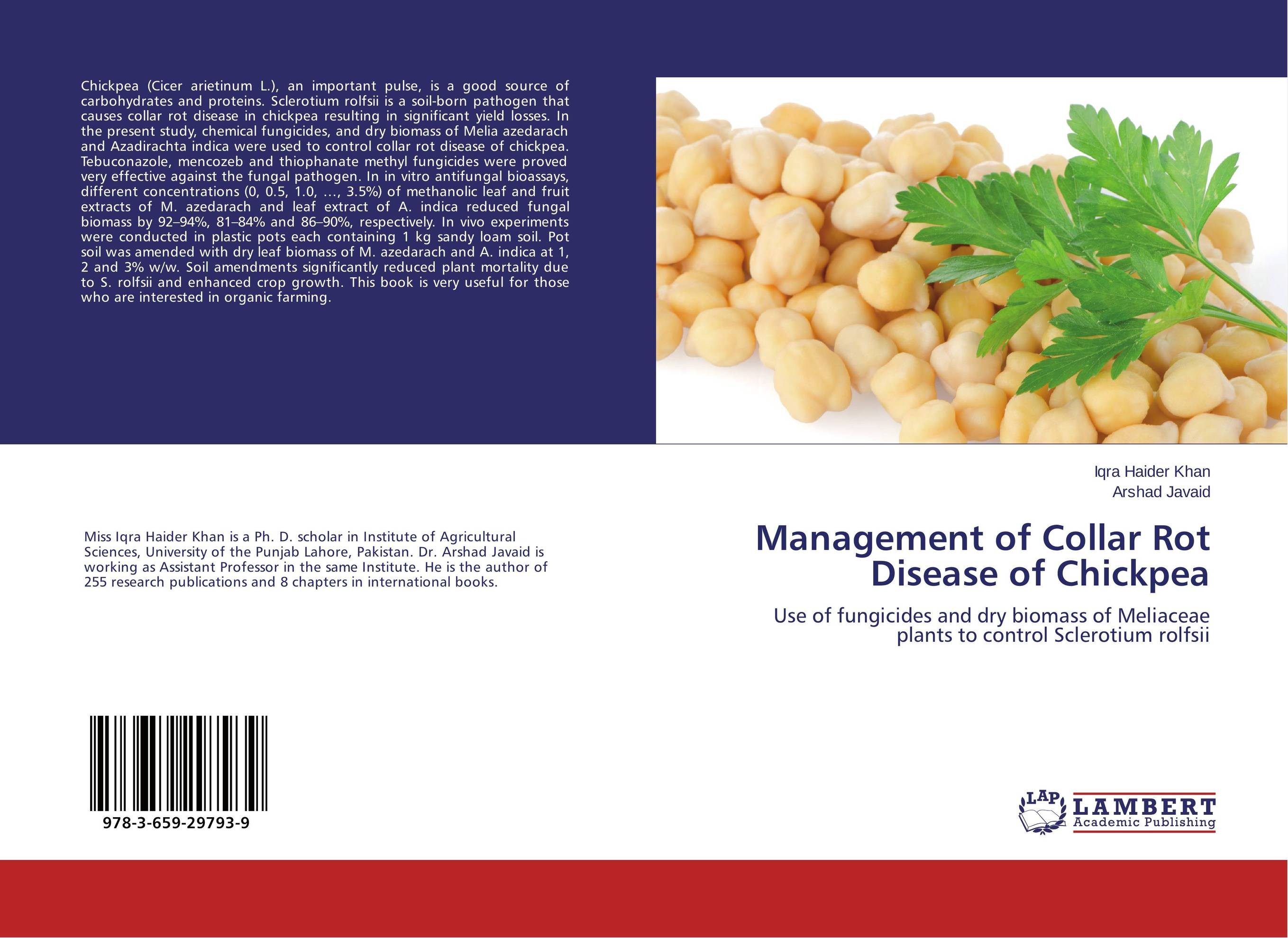 Management of Collar Rot Disease of Chickpea h n gour pankaj sharma and rakesh kaushal pathological aspects and management of root rot of groundnut