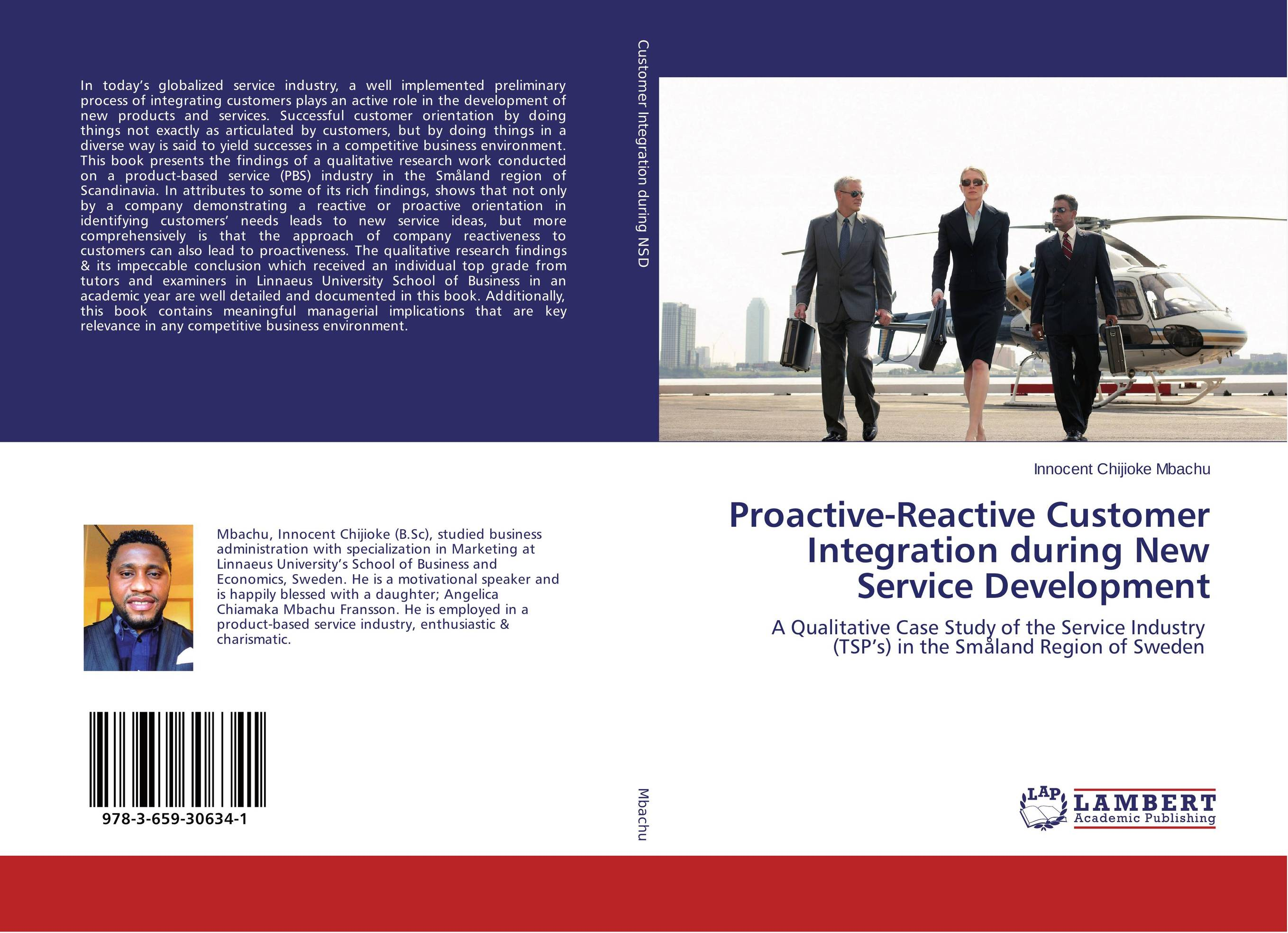 Proactive-Reactive Customer Integration during New Service Development