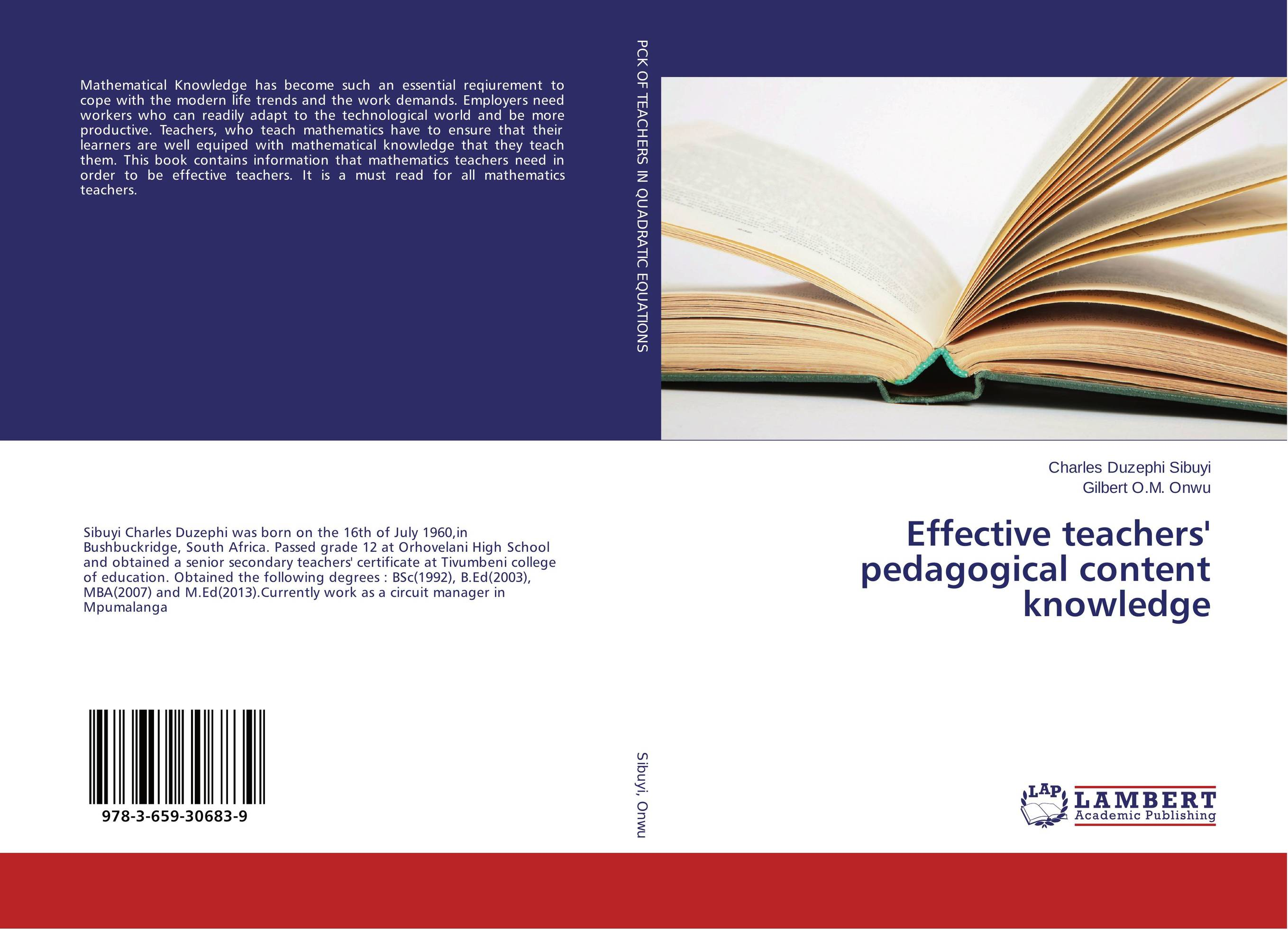 Effective teachers' pedagogical content knowledge eta hand2mind hands on standards ready to teach mathematics toolkit middle grades 79618