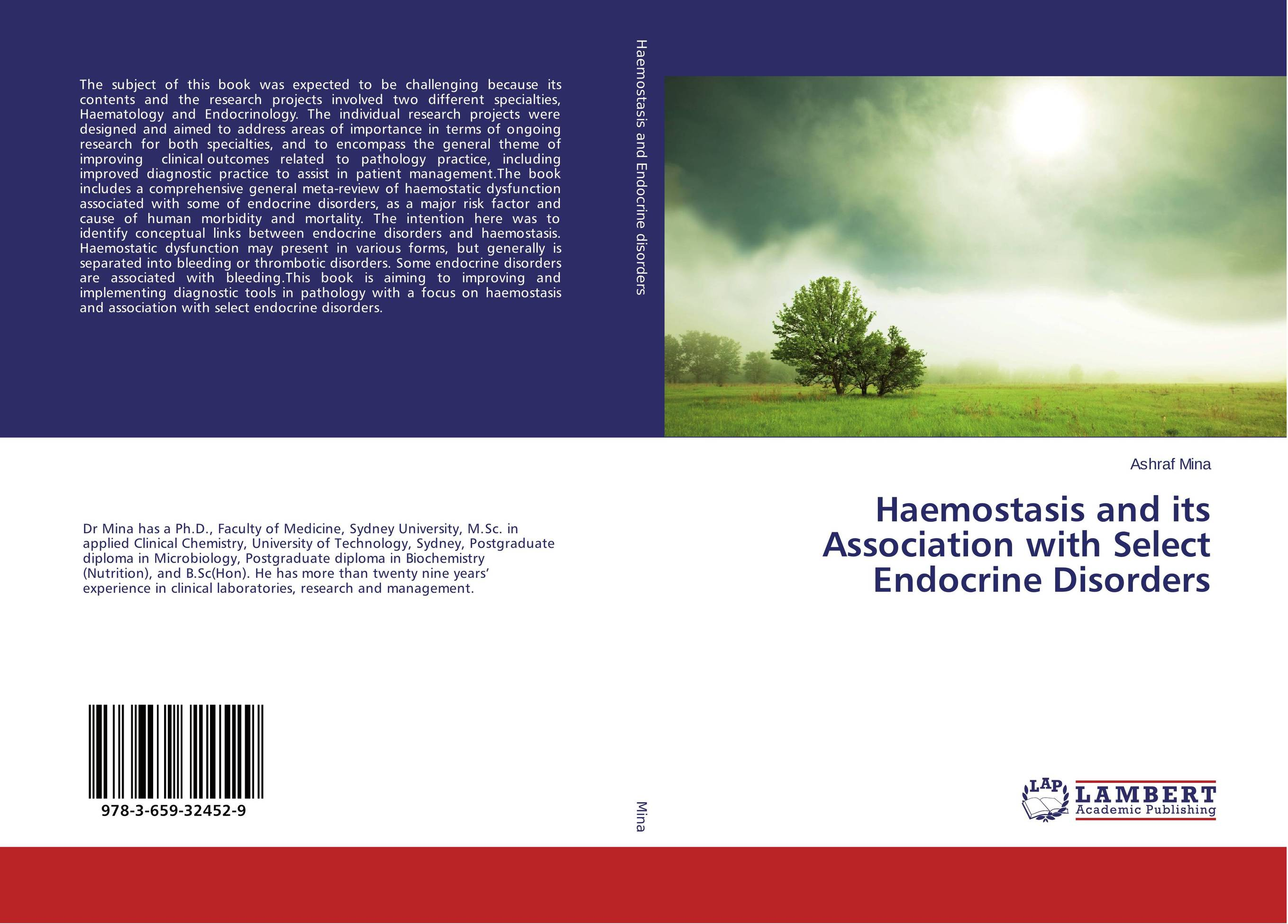 Haemostasis and its Association with Select Endocrine Disorders communication disorders